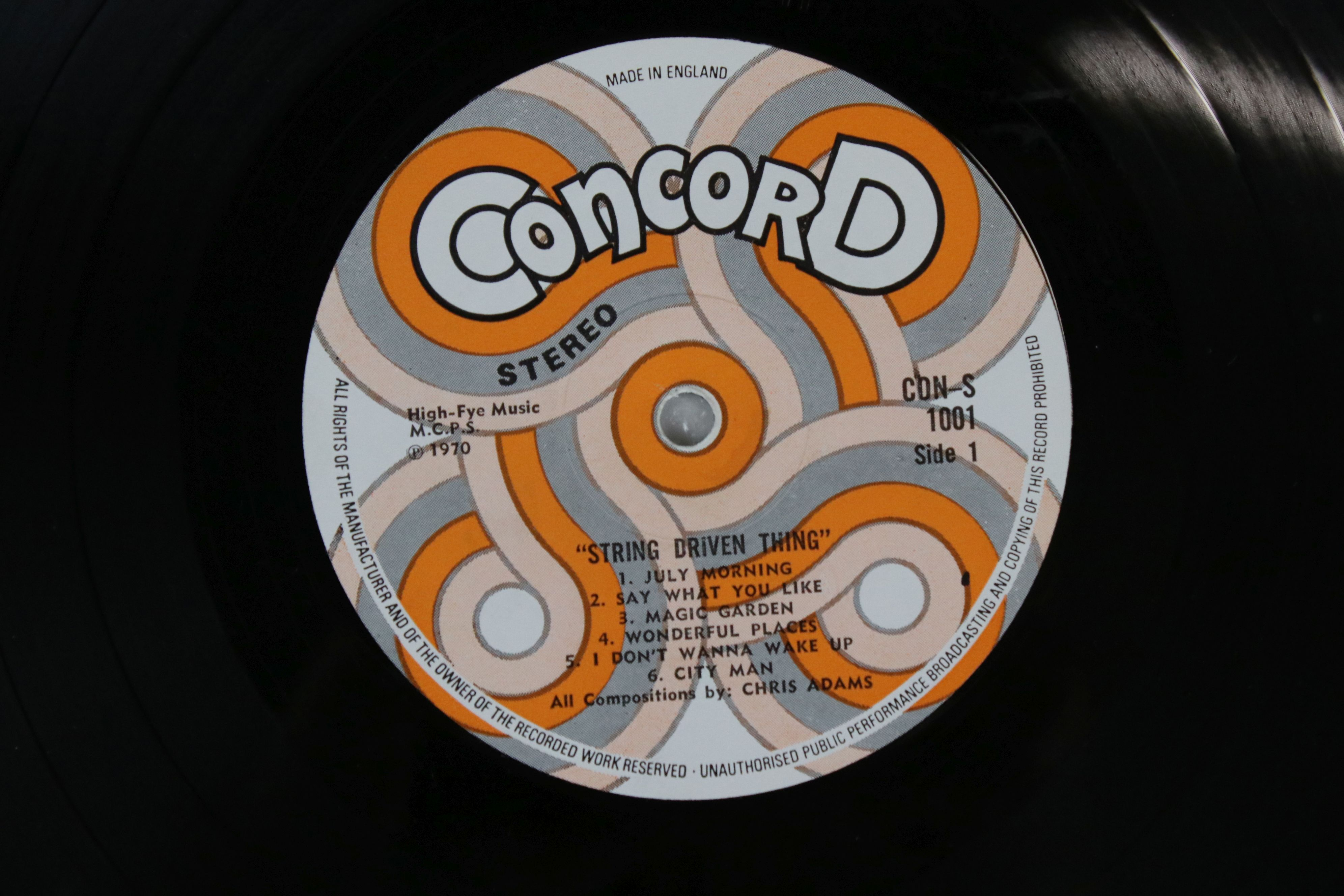 Vinyl - String Driven Thing self titled LP on Concord CON1001 Stereo, first album for the Concorde - Image 3 of 4