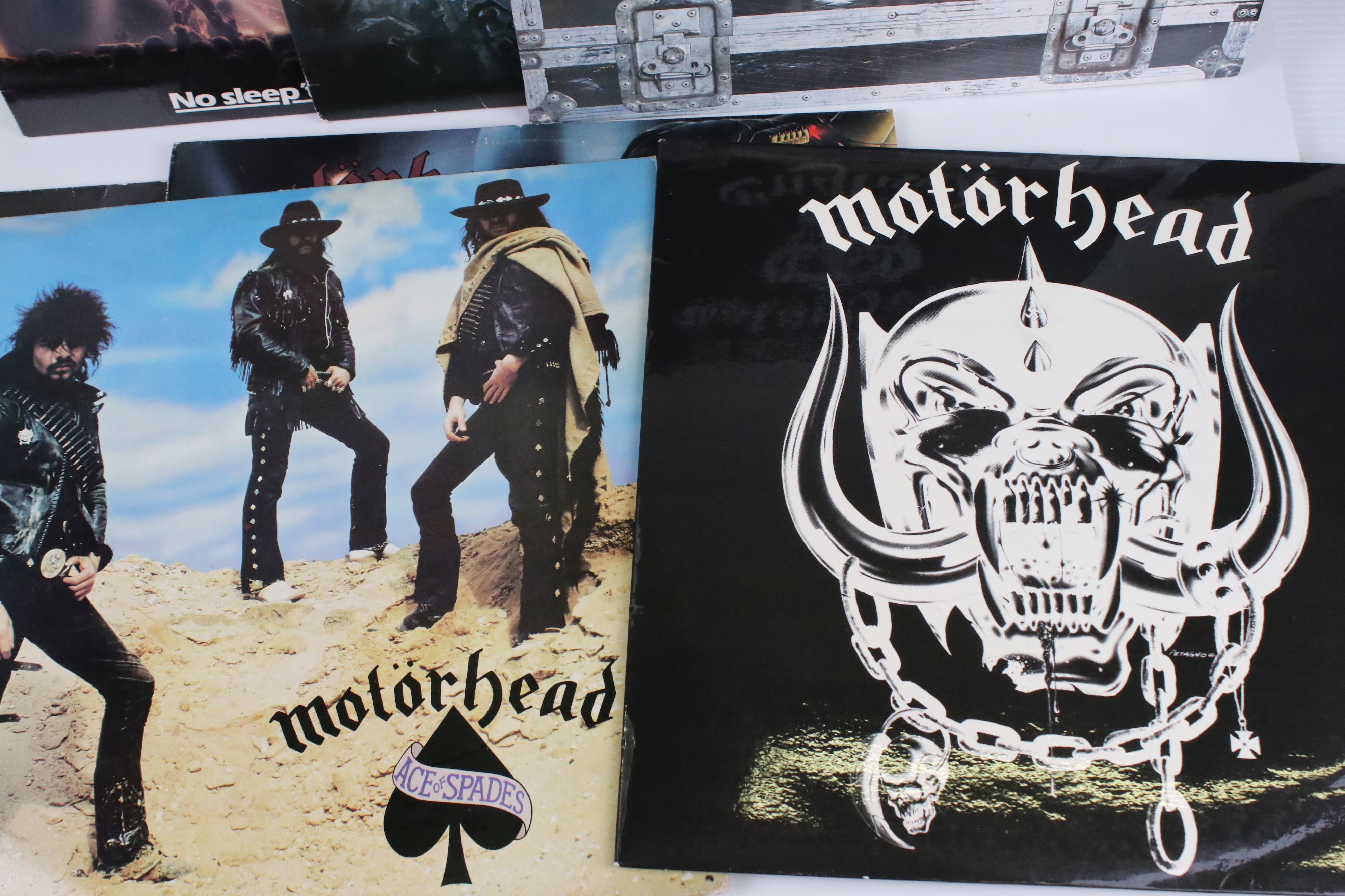 Vinyl - Motorhead 7 LP's to include Self Titled (WLK 2), No Sleep At All (GWLP31), Rock N Roll ( - Image 2 of 5