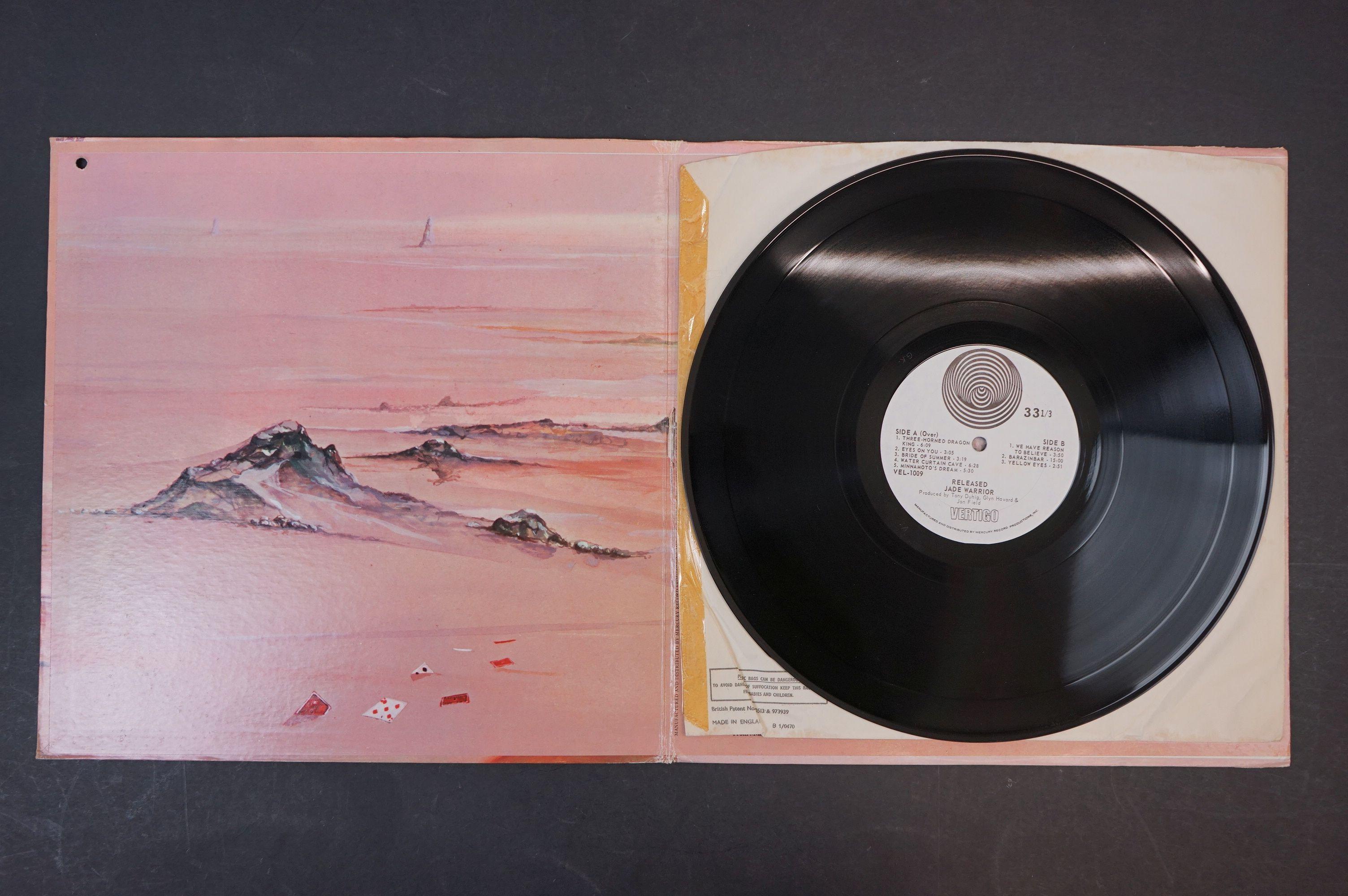 Vinyl - Four Jade Warrior LPs to include Last Autumn Dream LP on Vertigo Deluxe 6360079 gatefold - Image 5 of 9