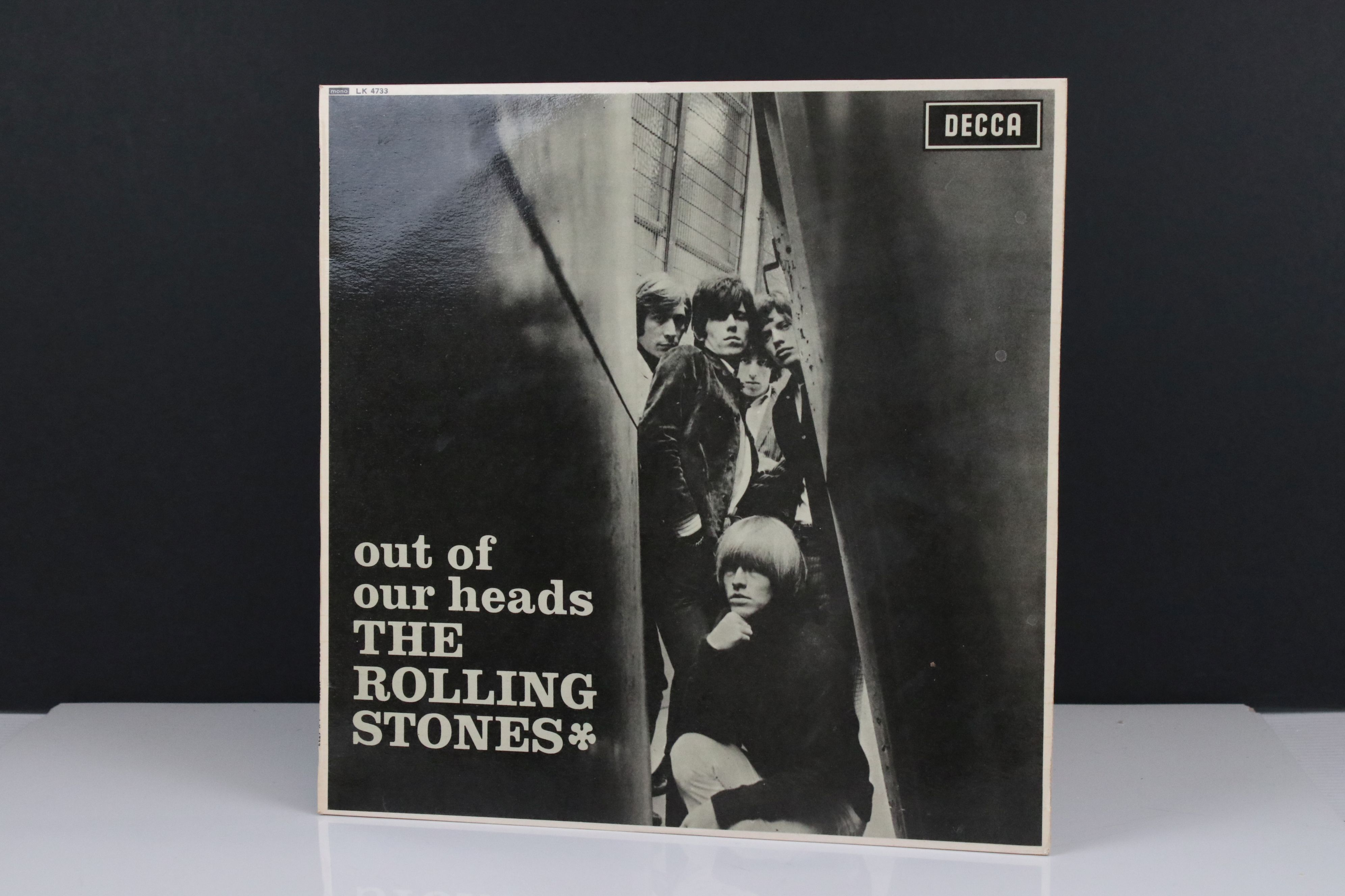 Vinyl - The Rolling Stones Out Of Our Heads (Decca LK 4733) mono, non flipback sleeve by Robert