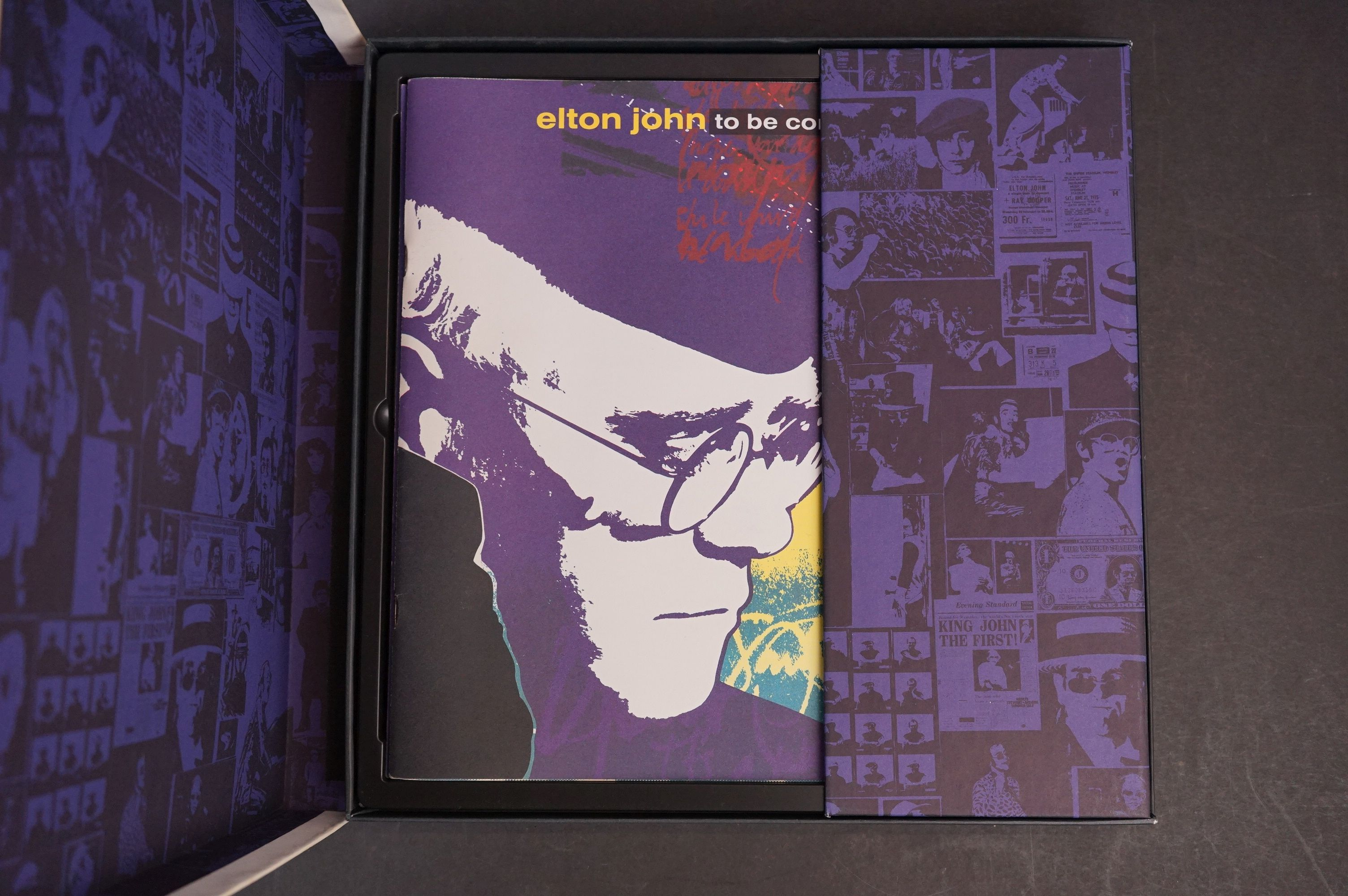 CD - Elton John To Be Continued Box Set MCAD4 - 10110 complete and vg - Image 2 of 6