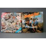 Vinyl - Two Sham 69 Vinyl LP's to include The Adventures Of Hersham Boys (Polydor Deluxe POLD 5025),