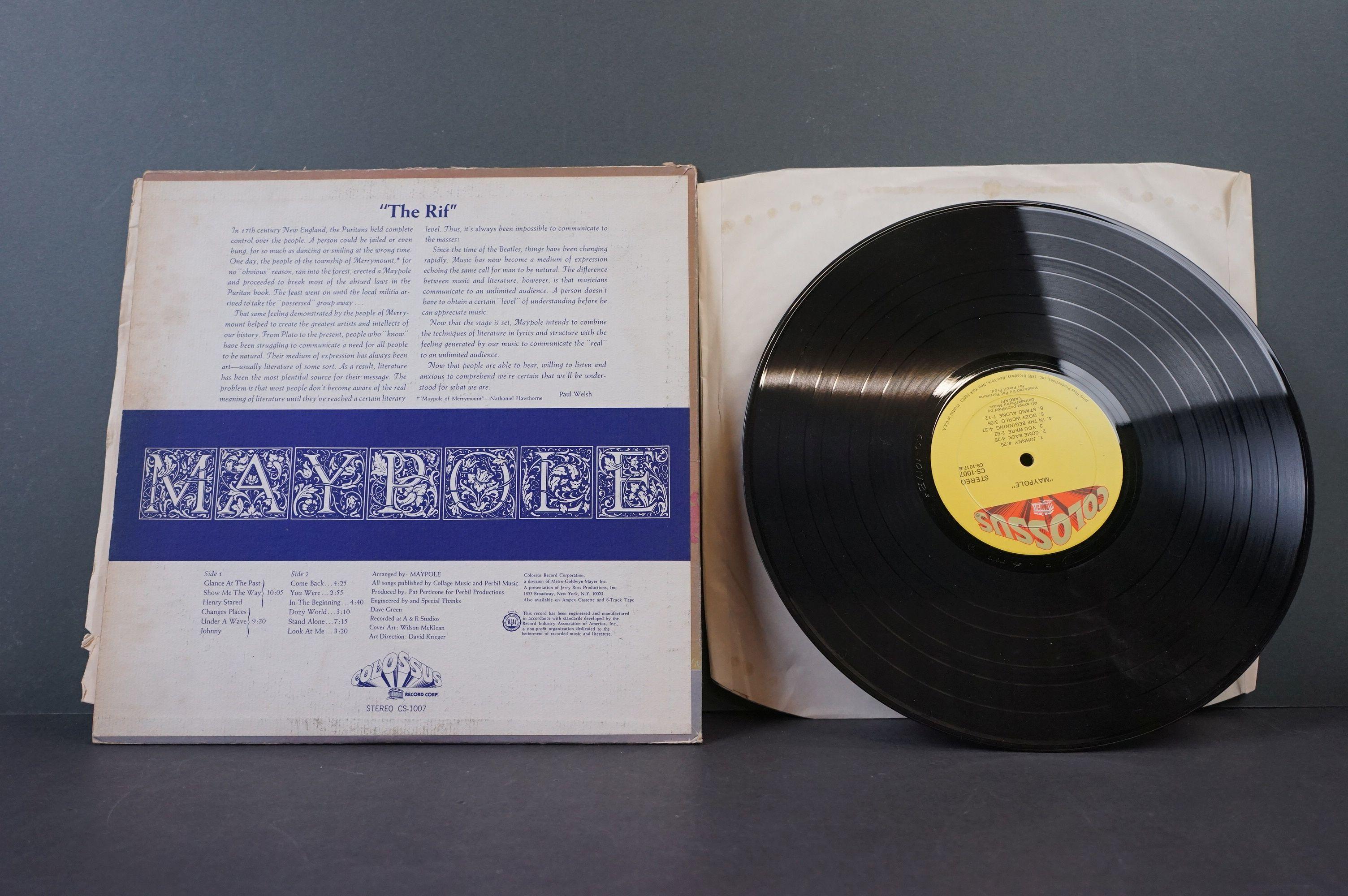 Vinyl - Psych - Three original Rare US pressing Psych albums. Maypole - Maypole (1971 US, Colossus - Image 3 of 8