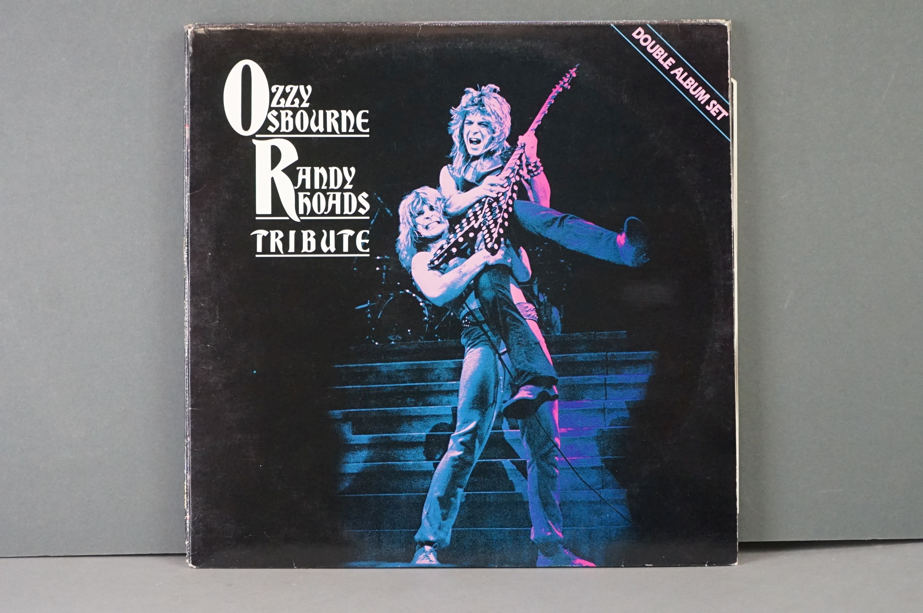 Vinyl - Six Ozzy Osbourne vinyl LP's to include The Ultimate Sin (Epic Records 26404), Live E.P. ( - Image 5 of 8