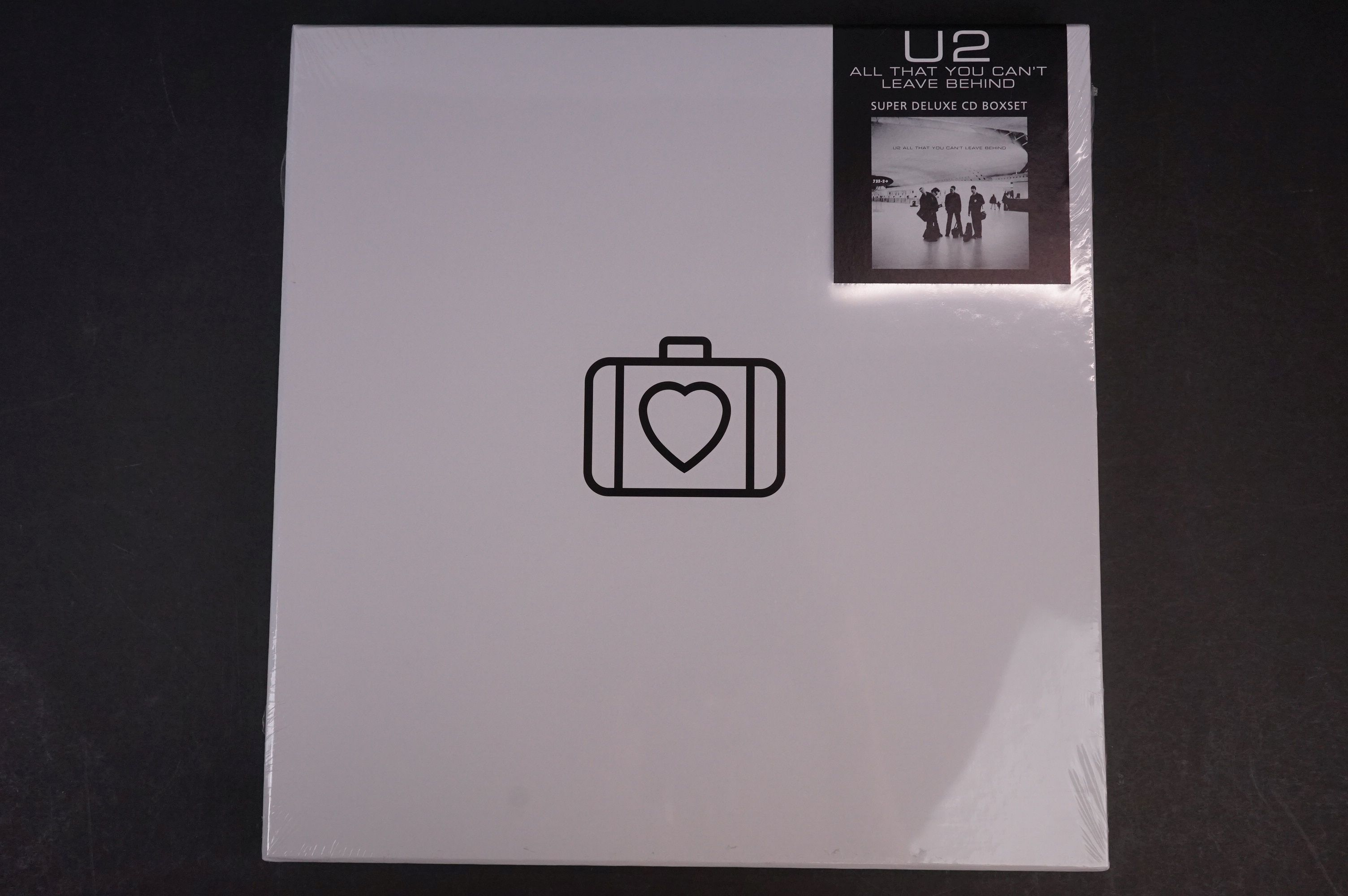 CD - U2 All That You Can't Leave Behind Super Deluxe CD Box Set, LC00407, sealed