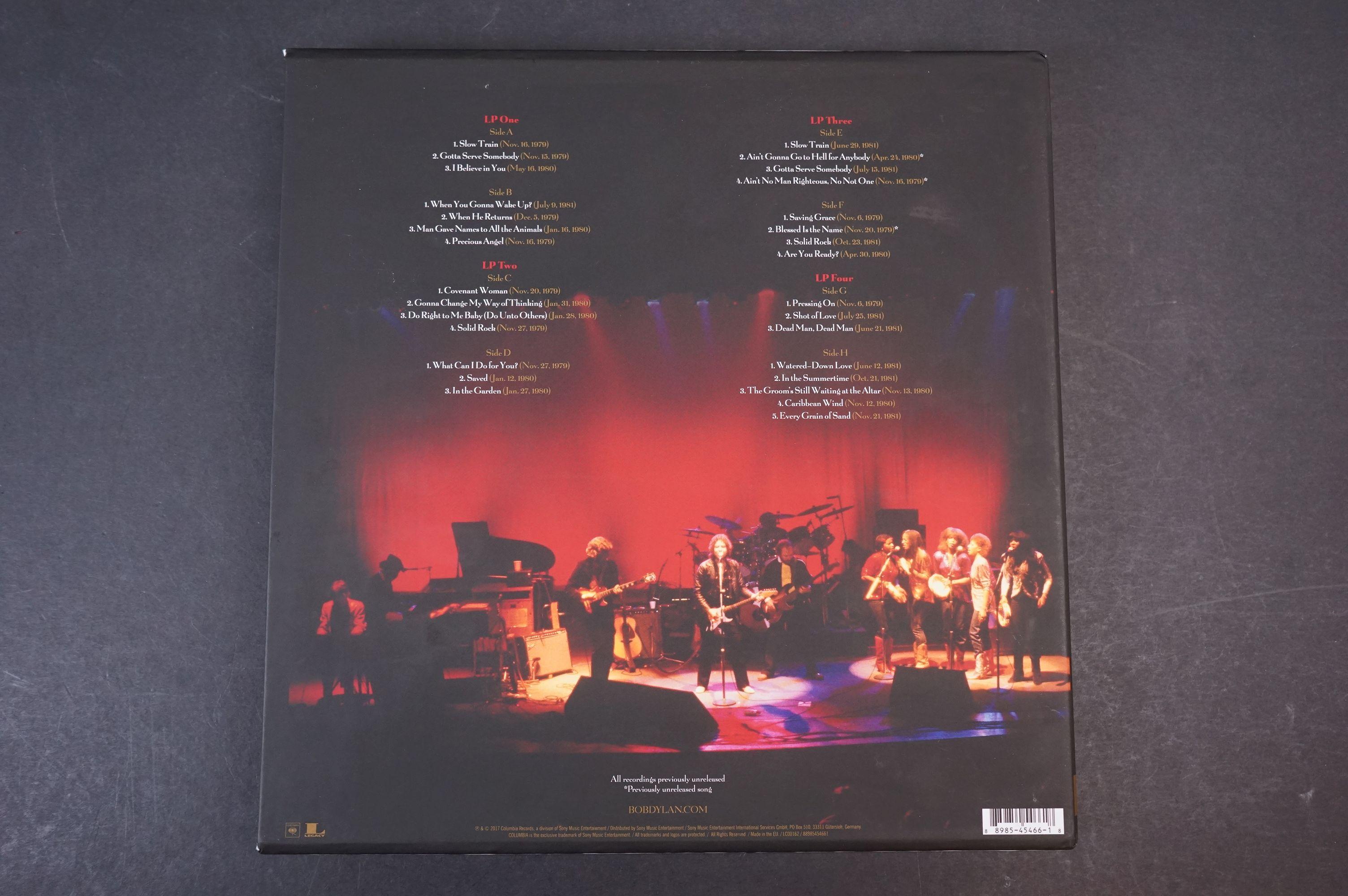 Vinyl - Bob Dylan Trouble No More The Bootleg Series vol 13 1979-1981 4 LP Box Set, ex - Image 9 of 9