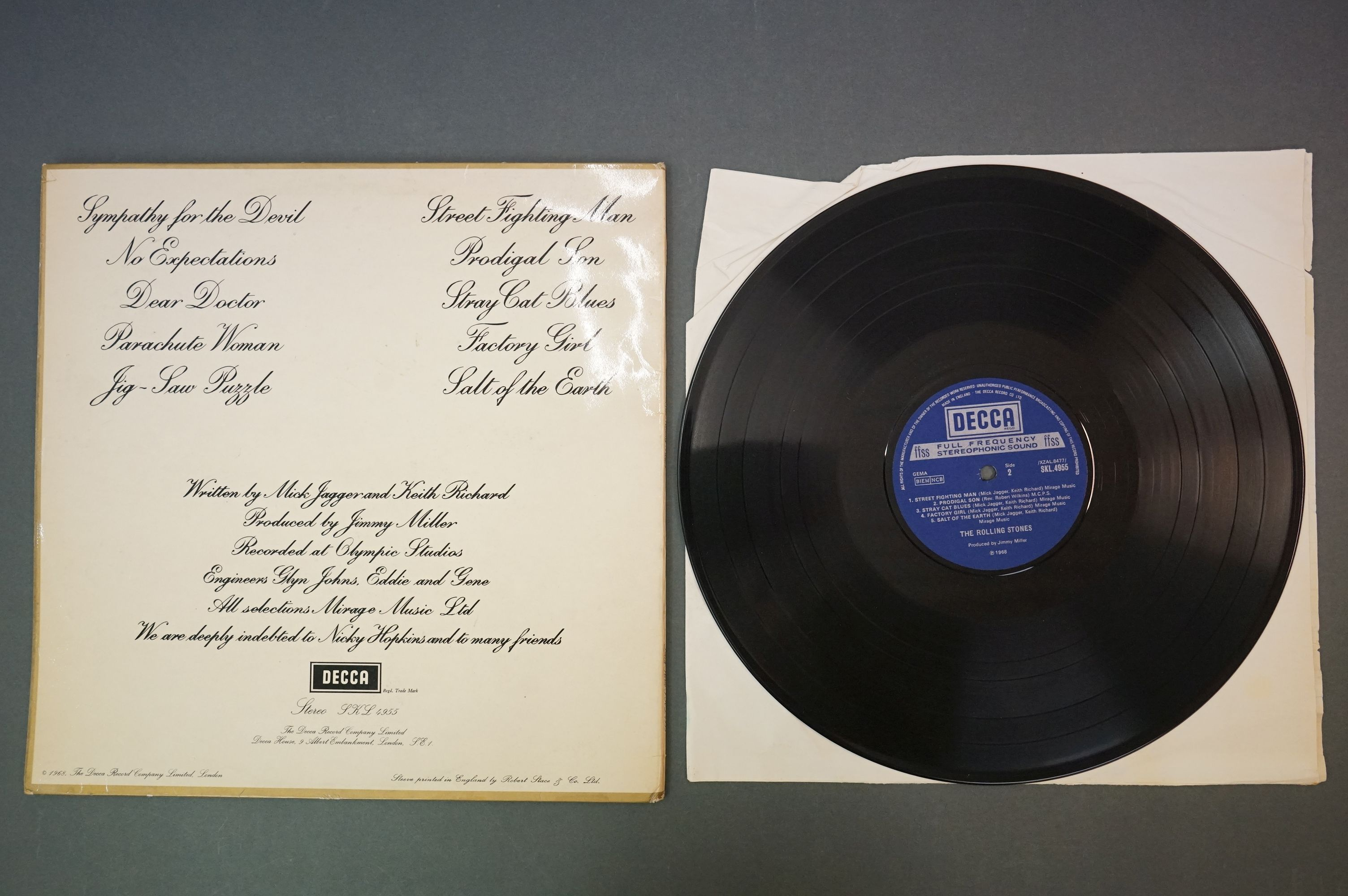 Vinyl - Rolling Stones 3 LP's to include Rolled Gold and Self Titled (both Dutch pressings), and - Image 7 of 10
