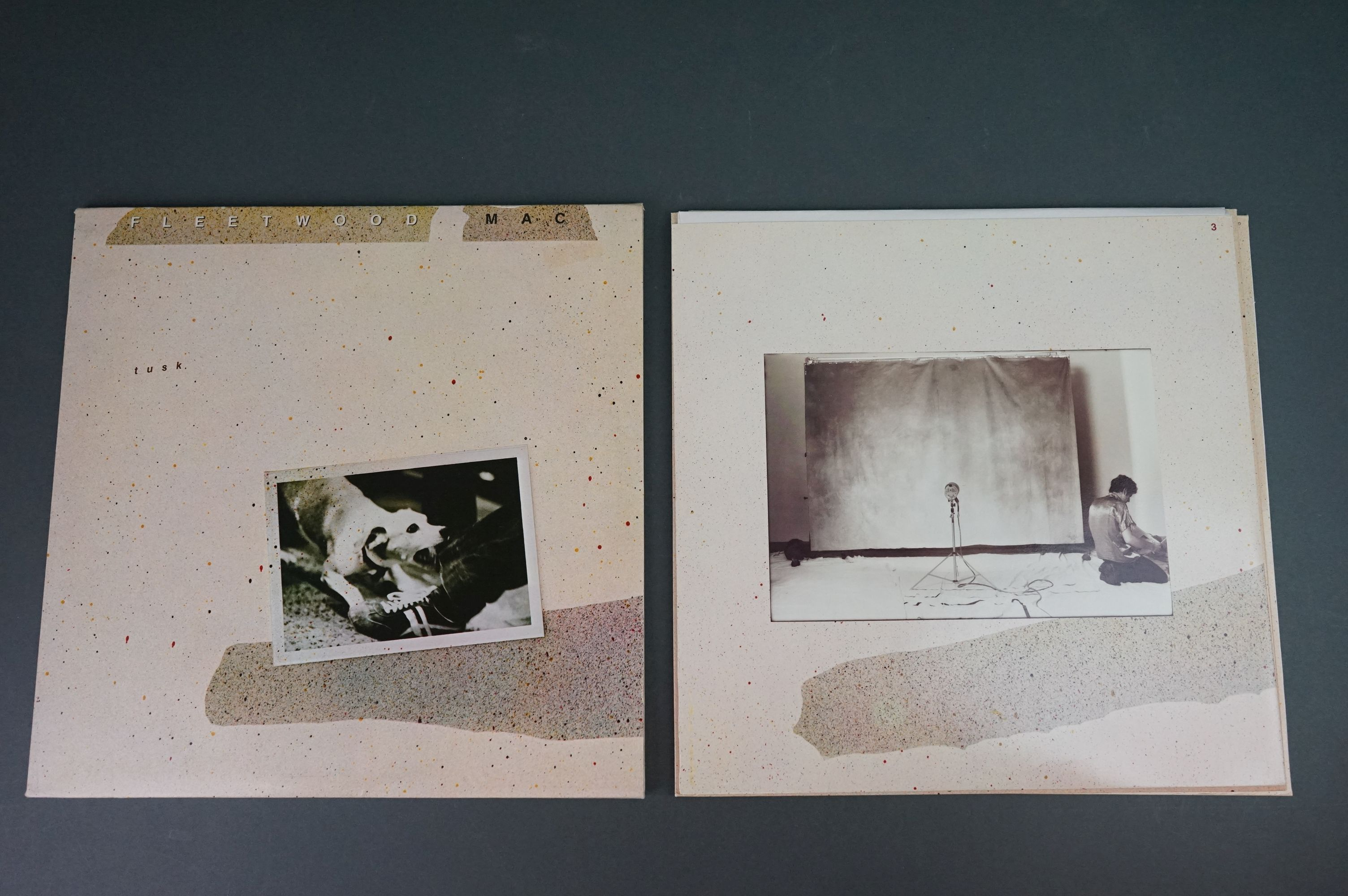 Vinyl - Two Fleetwood Mac LPs to include Tusk (K66088) and Rumours (K56344), sleeves and vinyl vg+ - Image 4 of 7