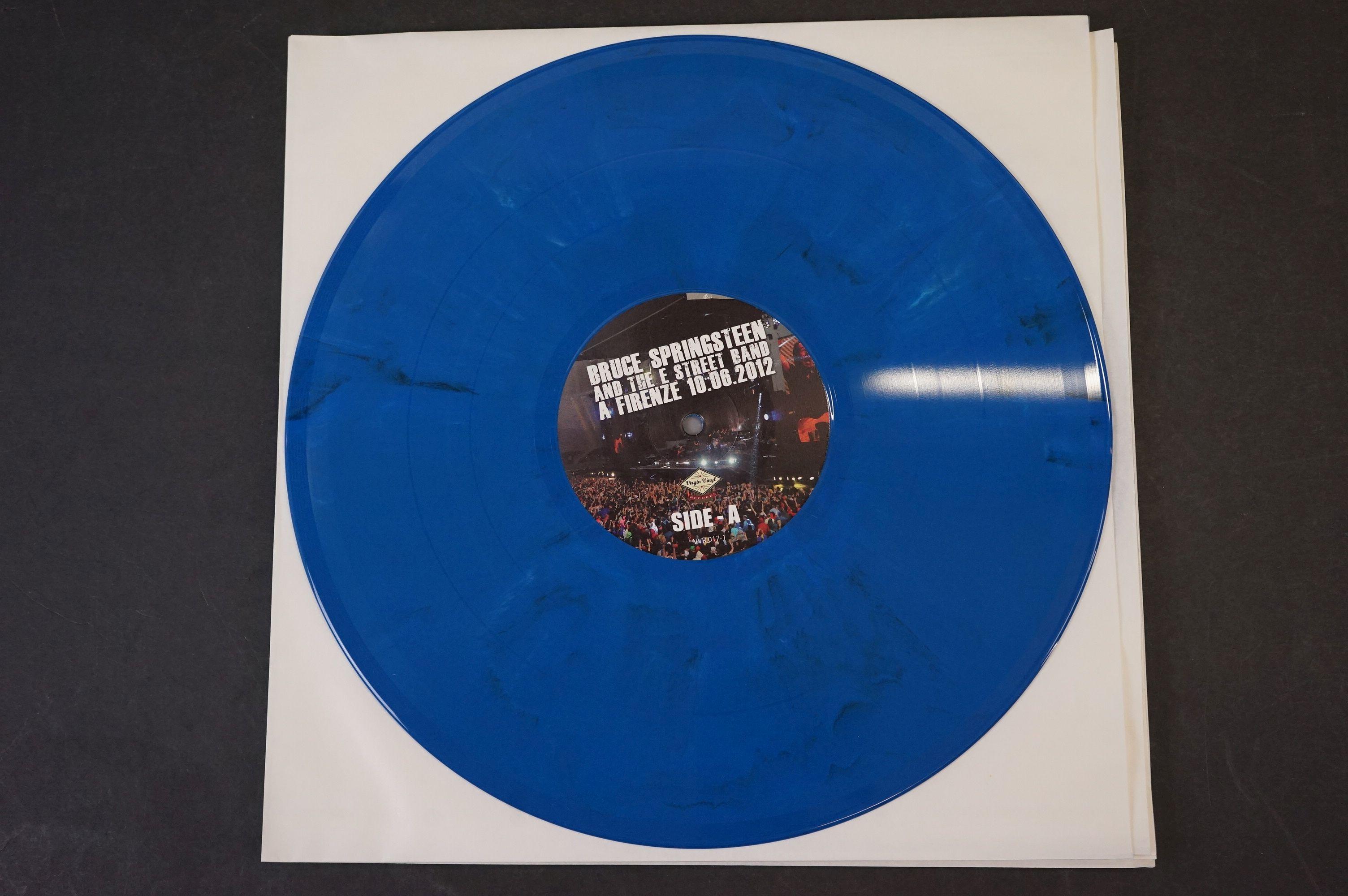 Vinyl - ltd edn Bruce Springsteen and The E Street Band A Firenze 10.06.2012 5 LP 3 CD 1 DVD heavy - Image 4 of 10
