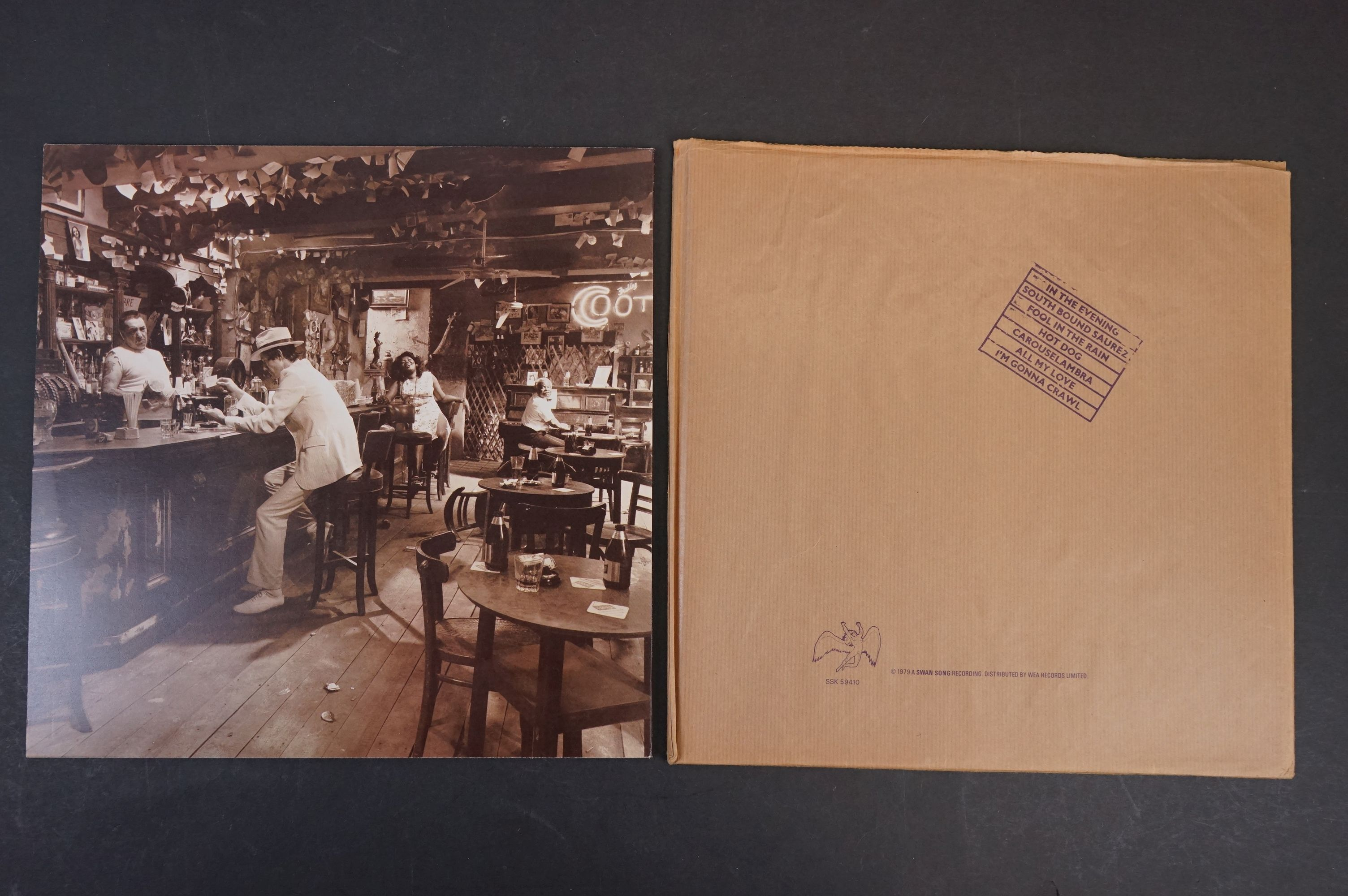 Vinyl - Six Led Zeppelin LPs to include In Through the Outdoor (cover D) SSK59410, Coda 790051, 2 - Image 17 of 17