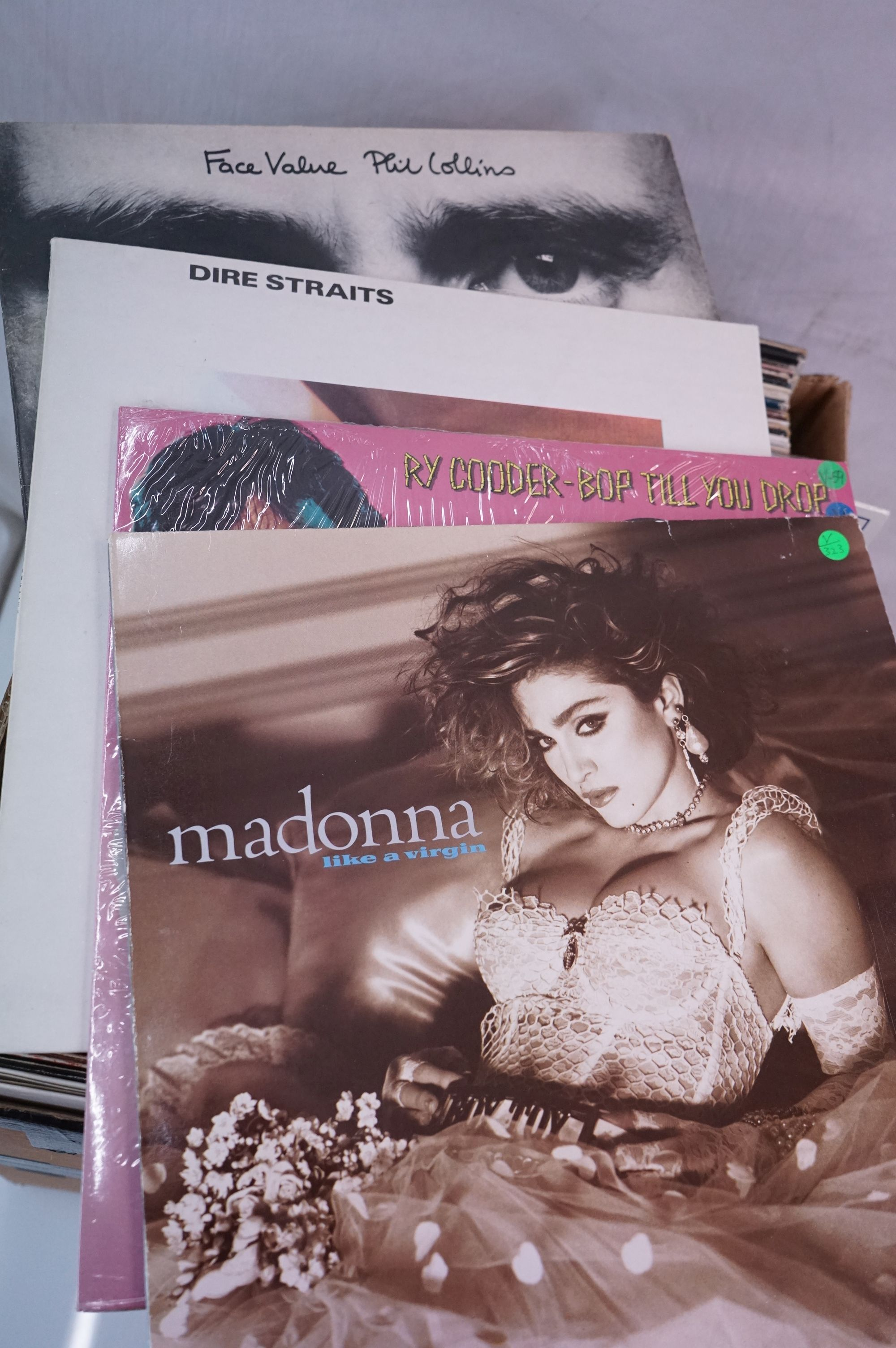 """Vinyl - Around 80 LPs and 12"""" single (mainly LPs) featuring Rock and Pop to include Blondie, Bon - Image 4 of 6"""