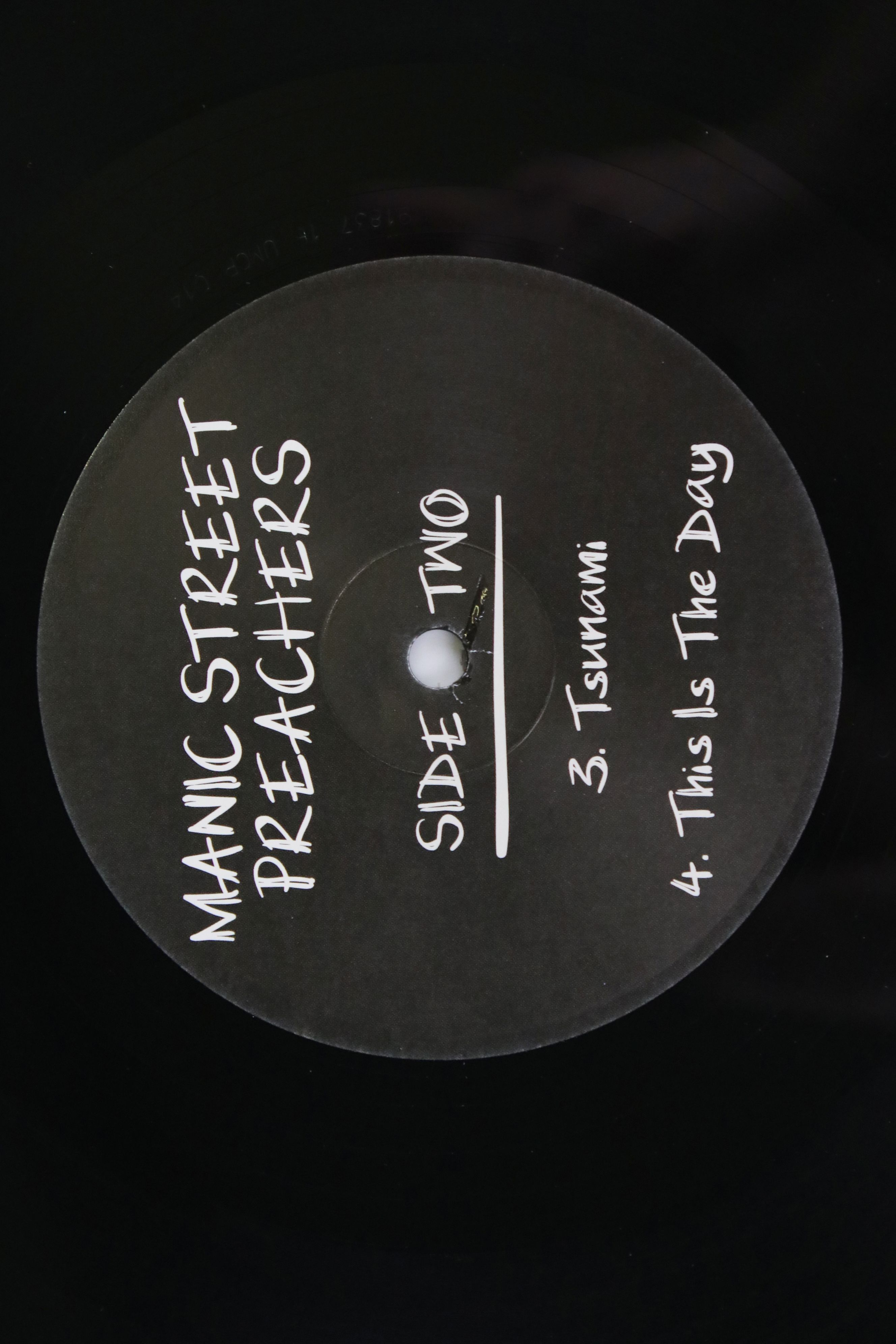 """Vinyl - Manic Street Preachers 'Memory Is The Greatest Gallery...' 12"""" single On Track with SEAT - Image 3 of 4"""