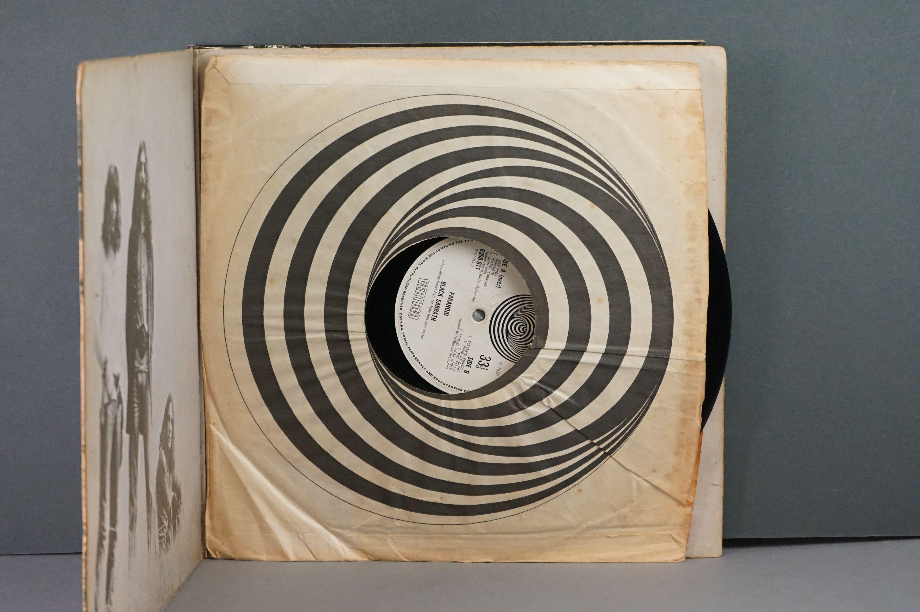 Vinyl - Twelve Black Sabbath vinyl LP's to include Technical Ecstasy (Vertigo Records PRICE 40), - Image 16 of 17