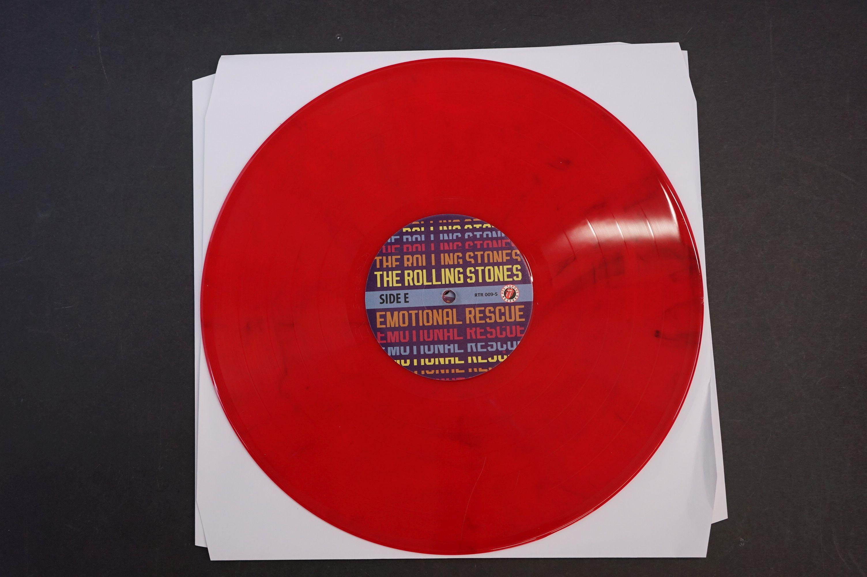 Vinyl - ltd edn The Real Alternate Album Rolling Stones Emotional Rescue 4 LP / 2 CD Box Set, - Image 8 of 12