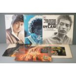 Vinyl - Bob Dylan 6 LP's to include Self Titled (62022), The Times They Are A Changin (62251),