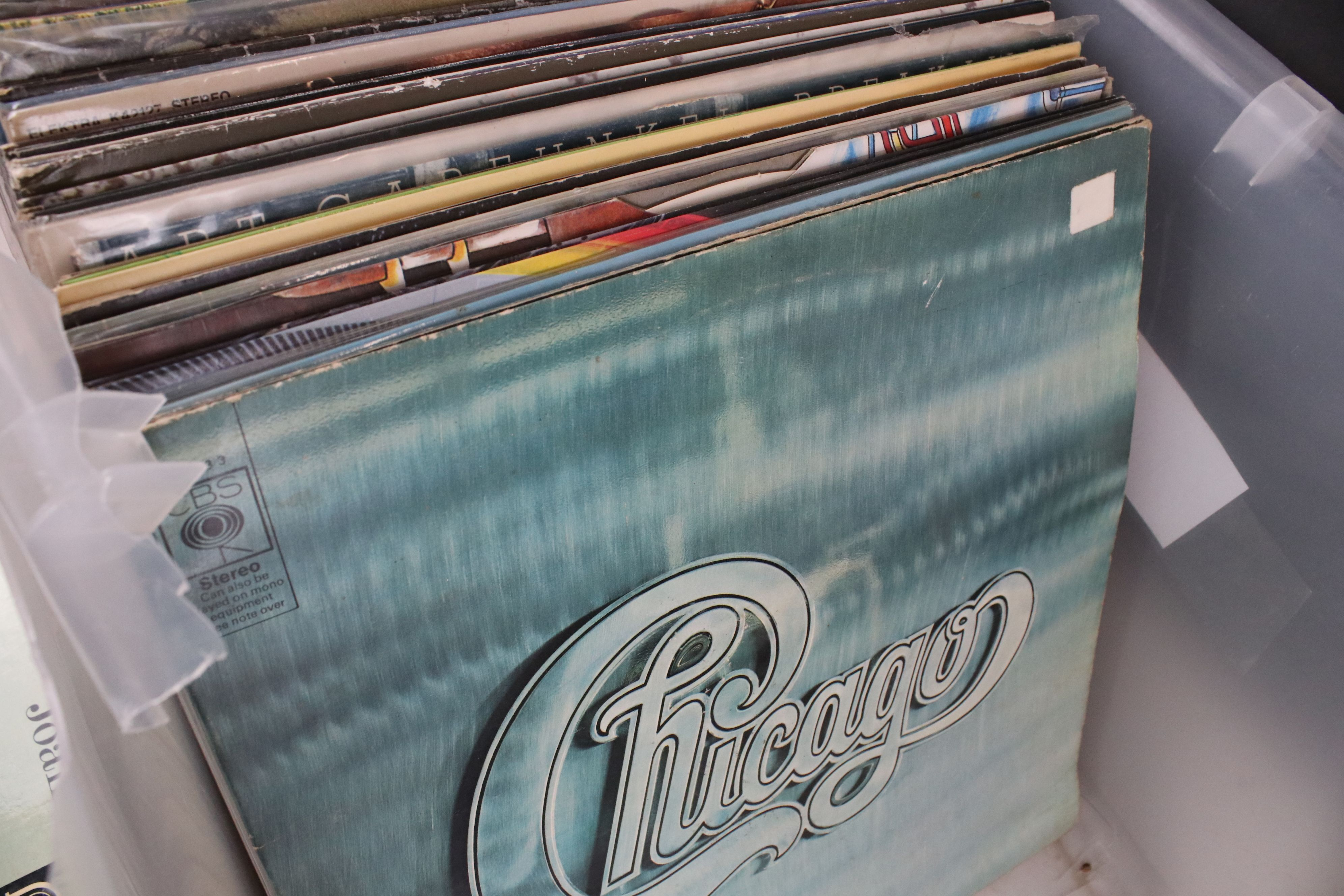 """Vinyl - Around 60 Pop and Rock LPs to include some 7"""" singles, artists feature The Eagles, ELP, Mike - Image 4 of 12"""