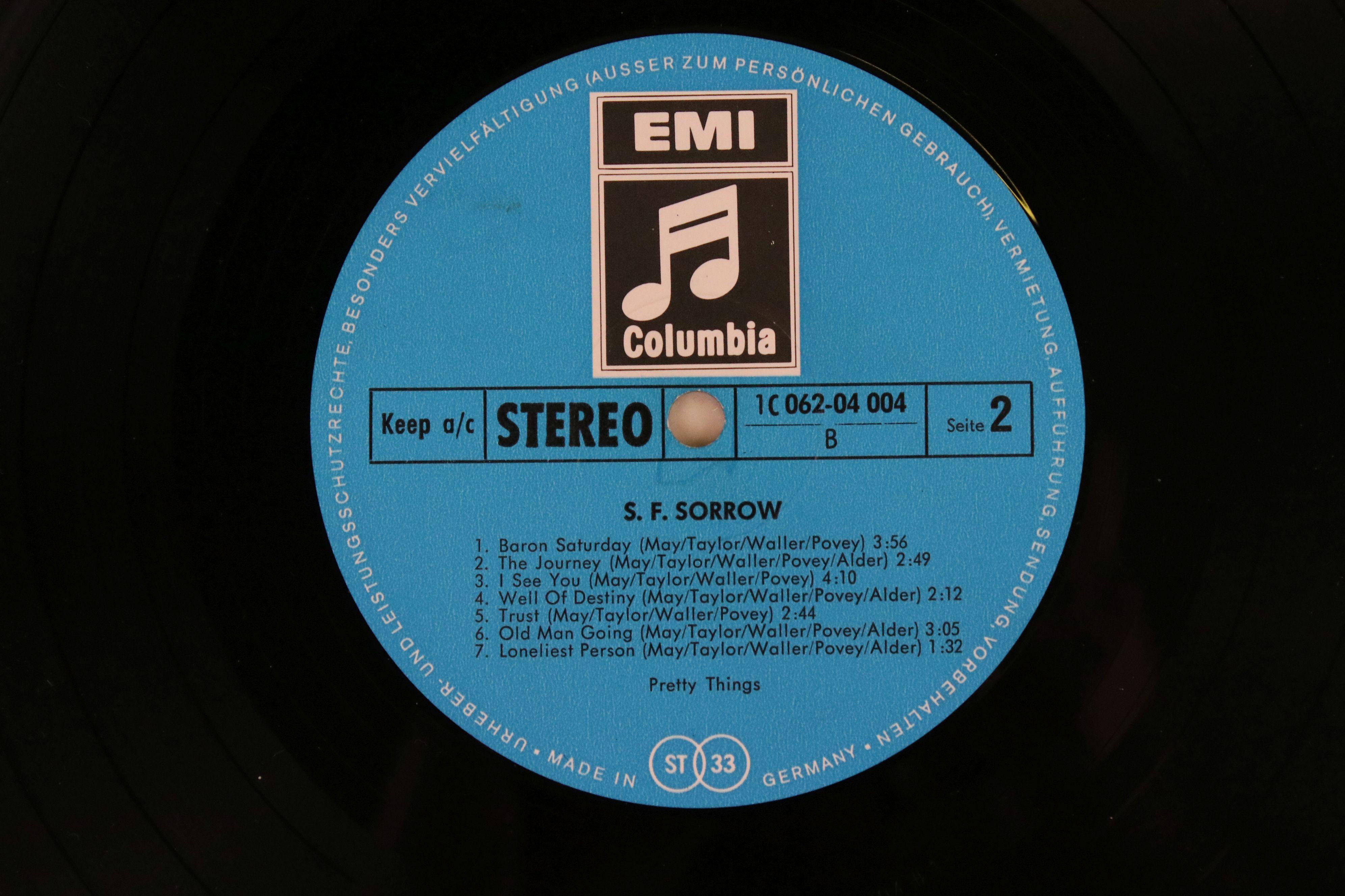 Vinyl - Pretty Things SF Sorrow LP on Columbia IC06204004 German pressing, gatefold sleeve, sleeve - Image 3 of 5