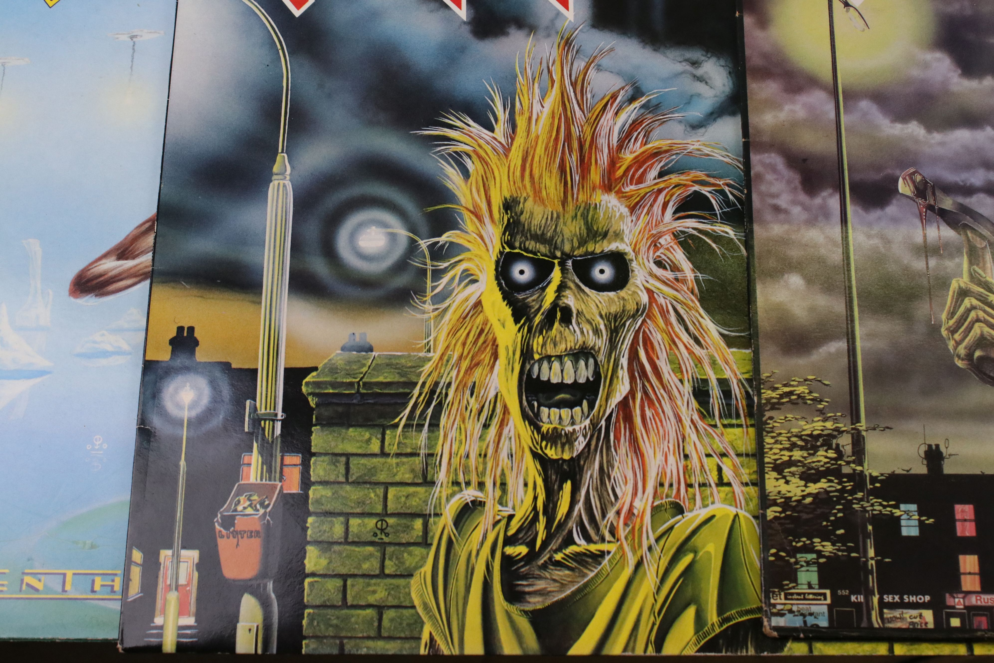 Vinyl - Approx 50 vinyl LP's spanning the decades and the genres to include Iron Maiden, ELO, - Image 2 of 10