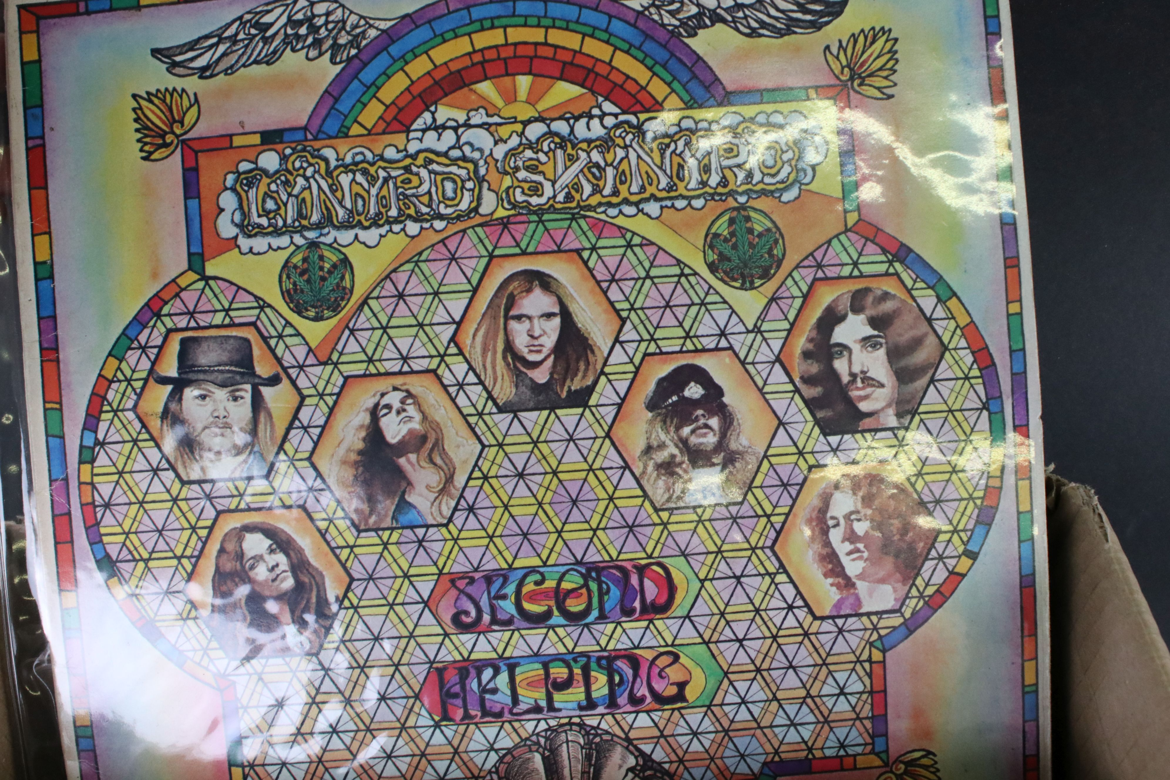 Vinyl - Around 65 US Rock LPs to include Rush, Todd Rundgren, Kiss, Steeley Dan, Lone Star etc, - Image 9 of 9