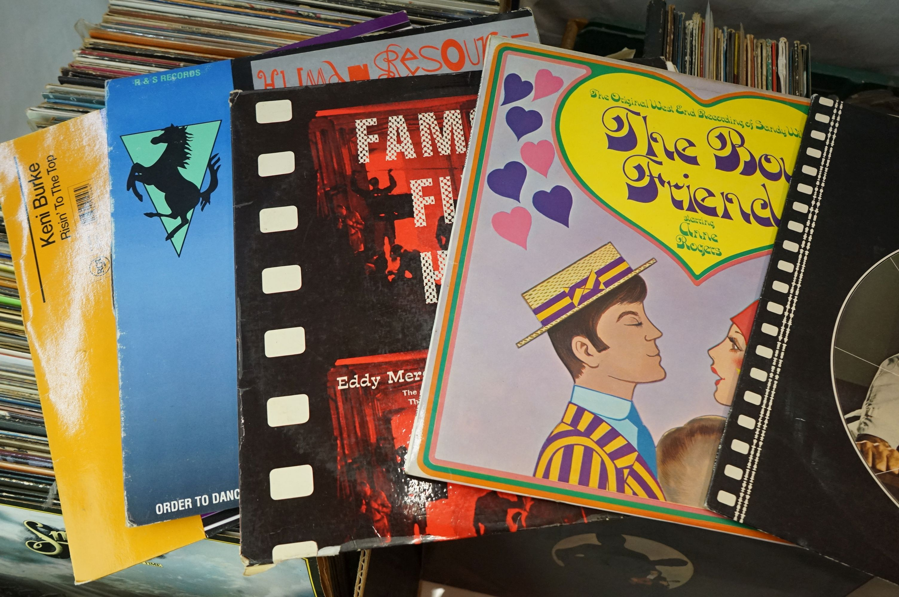 Vinyl - Large collection of LPs spanning the genres and decades (four boxes) - Image 2 of 8