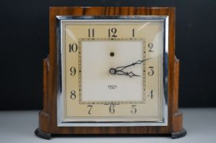 Art Deco Smiths Sectric Mantle Clock