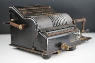 German Brunsviga Adding Machine / Calculator