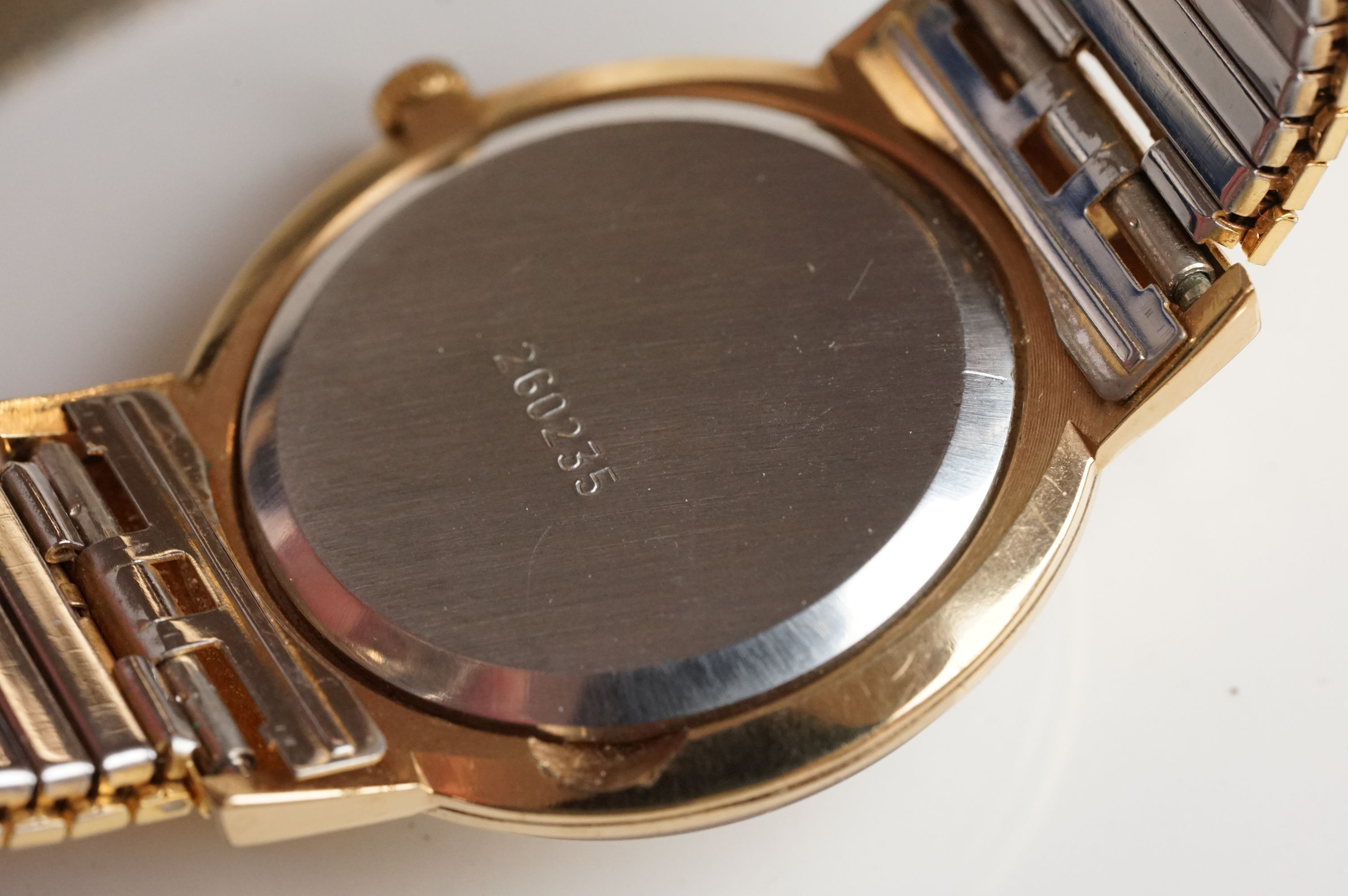 A boxed Seiko SQ gents day / date quartz wristwatch together with another Seiko and a Sekonda. - Image 8 of 8