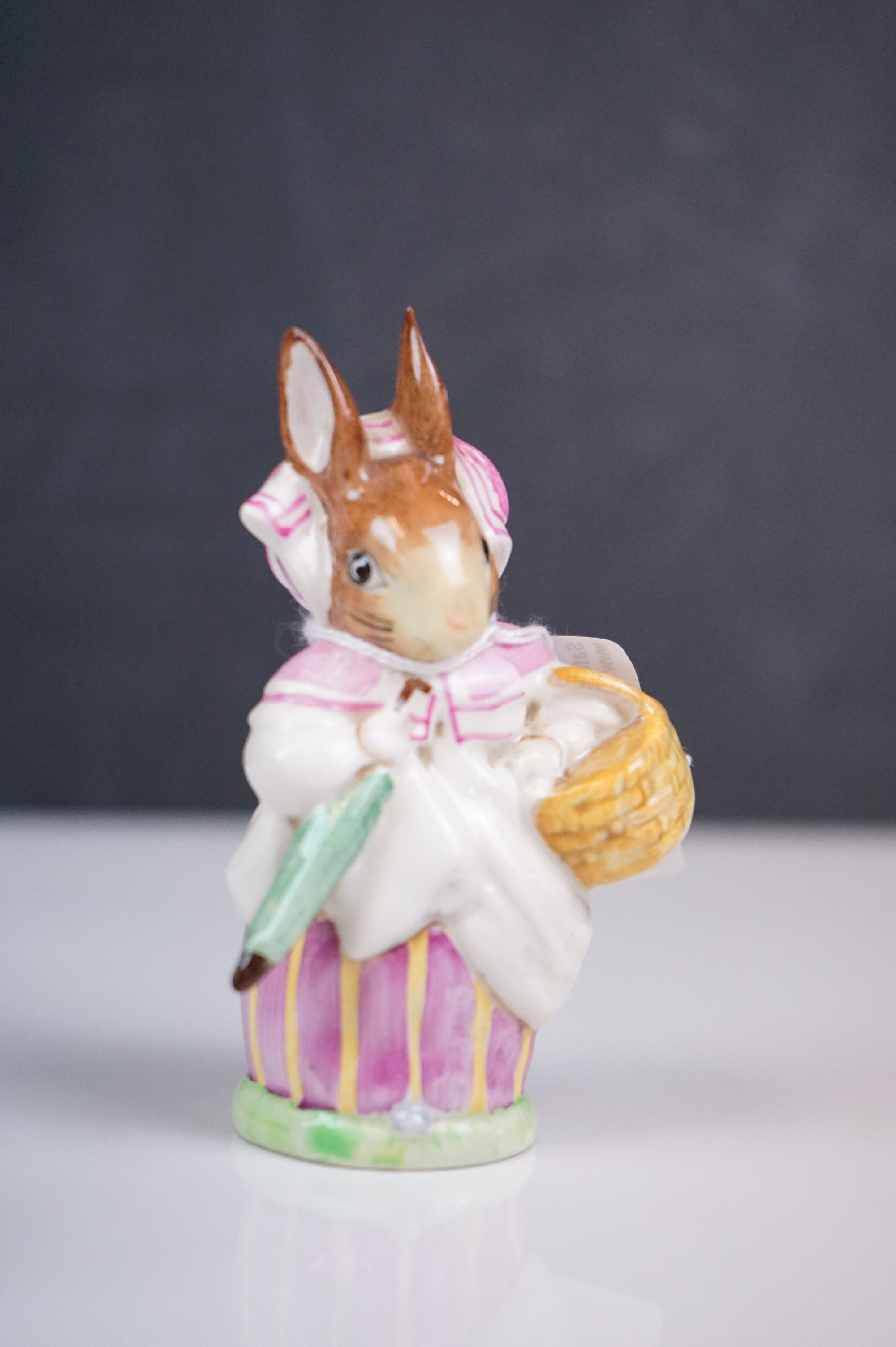 Five ceramic figures, to include Royal Doulton Mr Saltapple, Beswick Mrs Rabbit etc - Image 7 of 8
