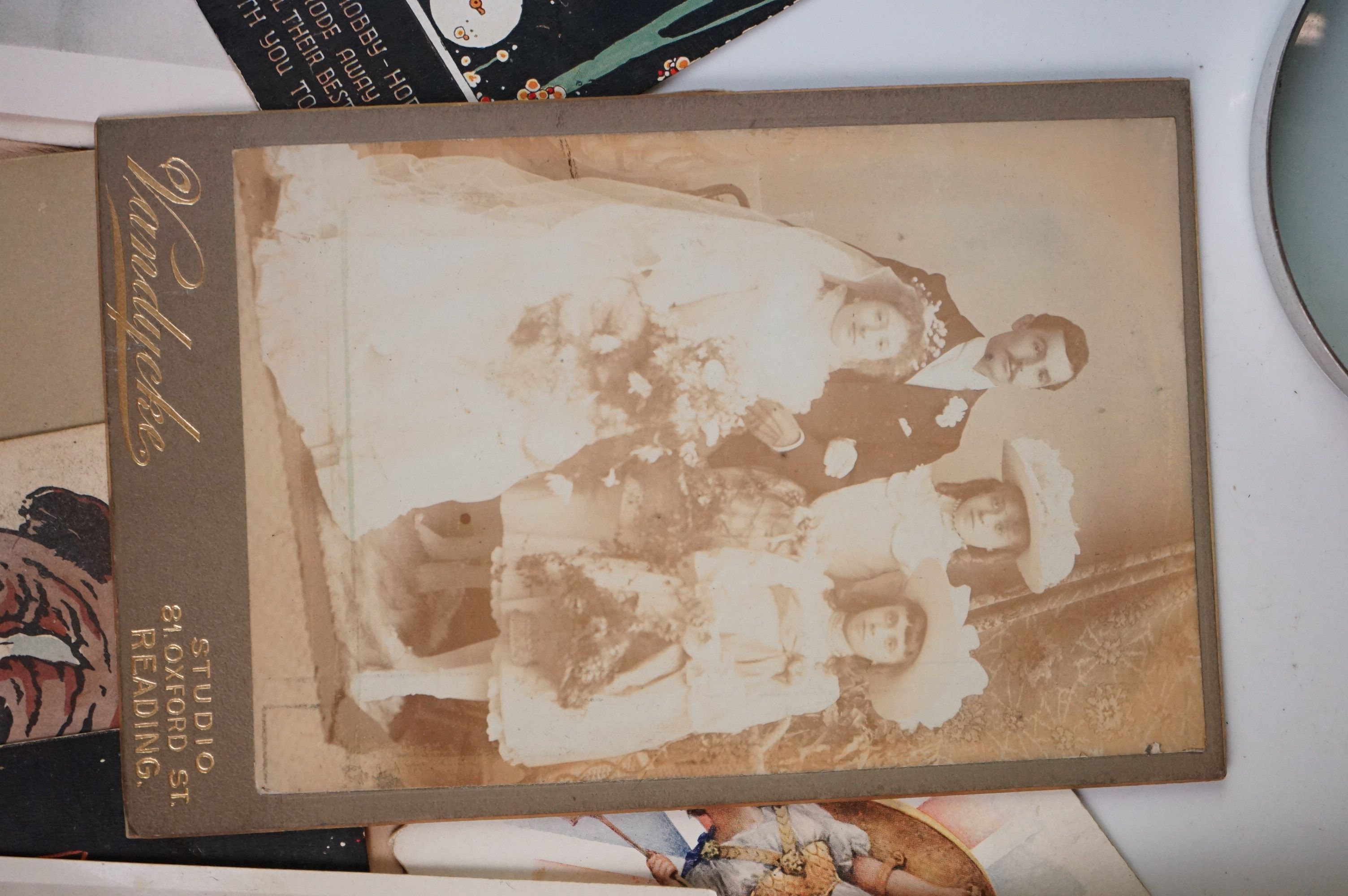 Album containing WW1 photographic postcards of the Royal Medical Corps, many with correspondence & - Image 4 of 13