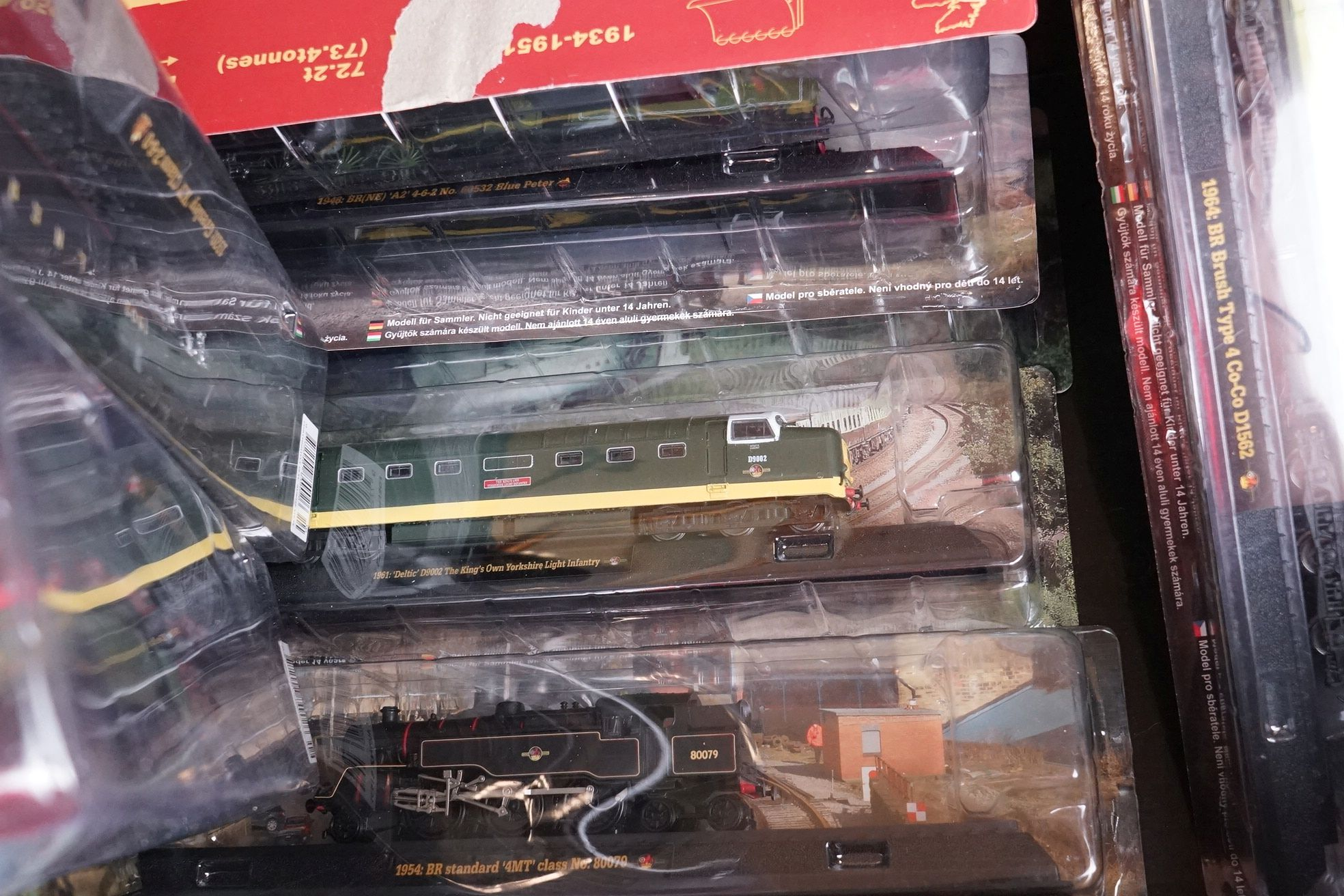 A large collection of railway locomotive models contained within three boxes to include the 1963 - Image 8 of 10
