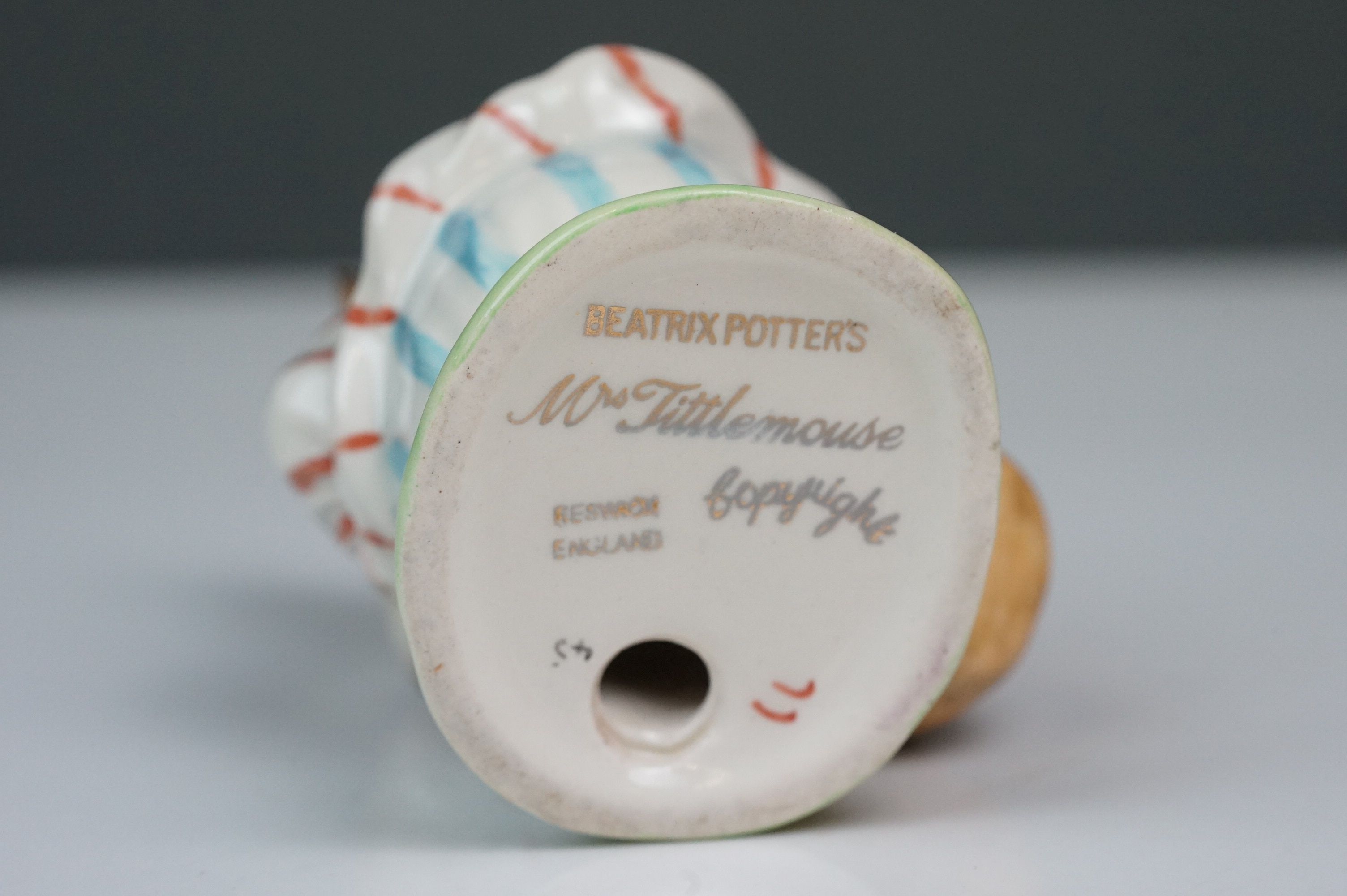 Beswick Beatrix Potter's Mrs Tittlemouse, style one, BP 1A No. 1103 - Image 5 of 5