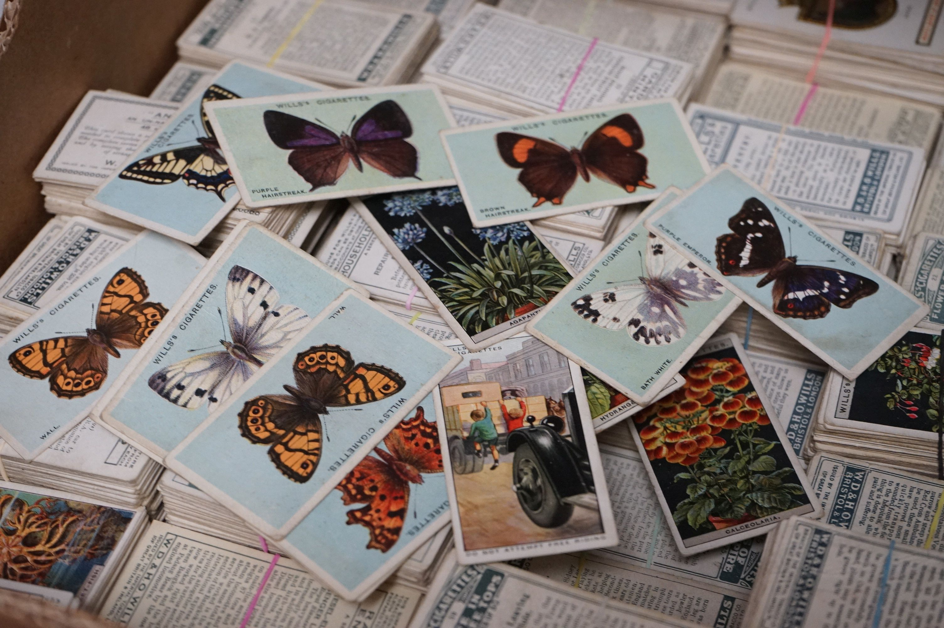 A large collection of over 4000 Wills cigarette cards to include full sets and part sets. - Image 2 of 2