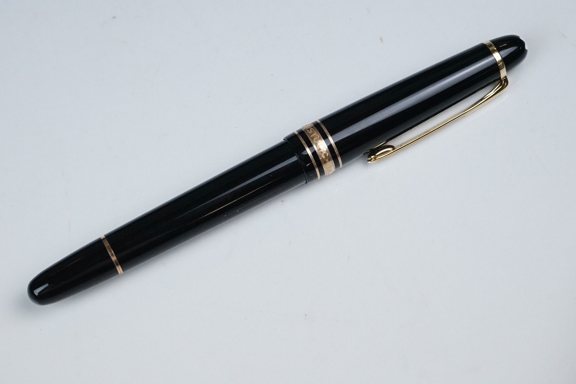 Mont Blanc Meisterstuck Hommage A Frederic Chopin fountain pen, model 145 M, with CD, service - Image 4 of 6