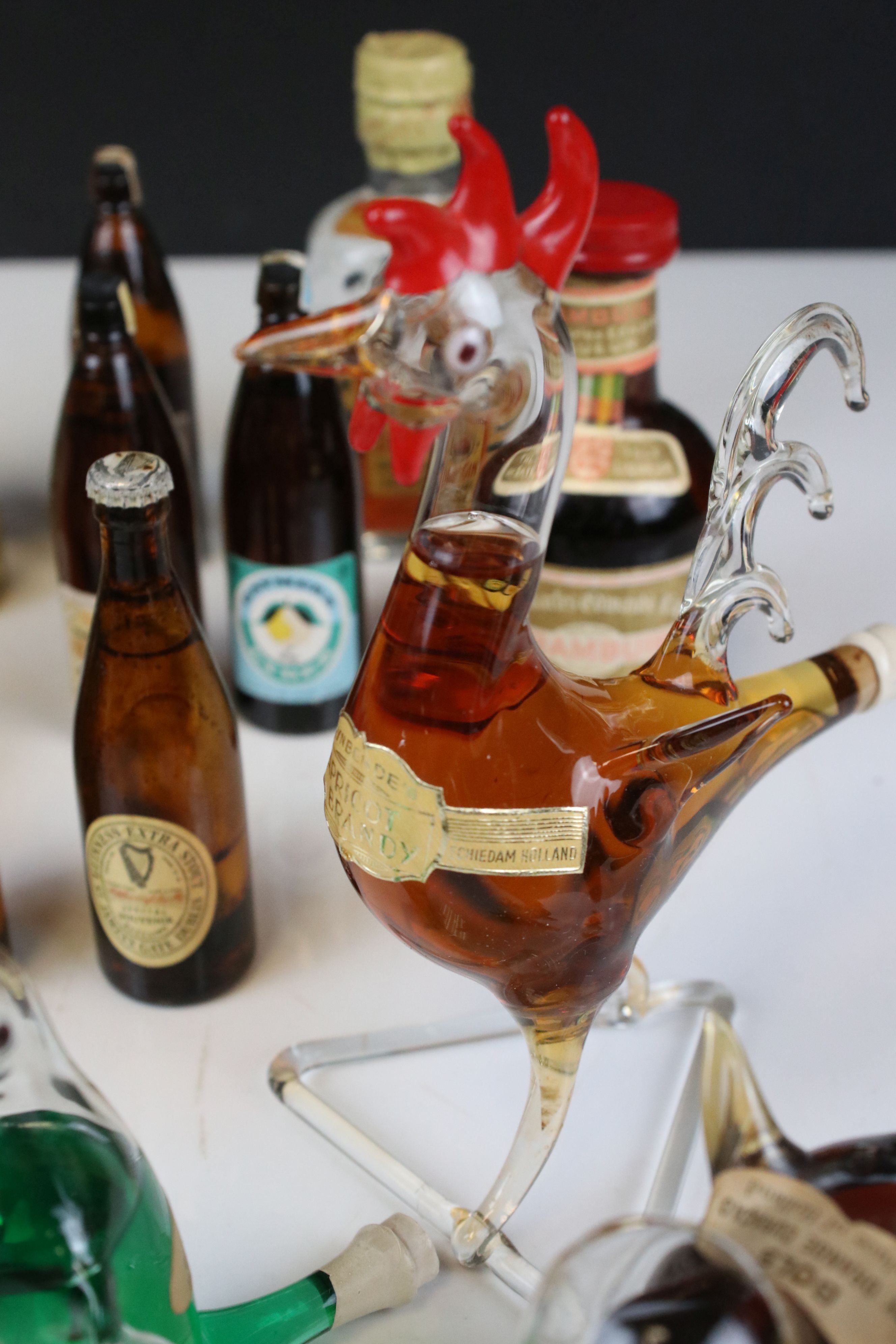 Collection of Miniature Spirits including Dimple Whisky plus Three Glass Bottles in the form of - Image 5 of 9