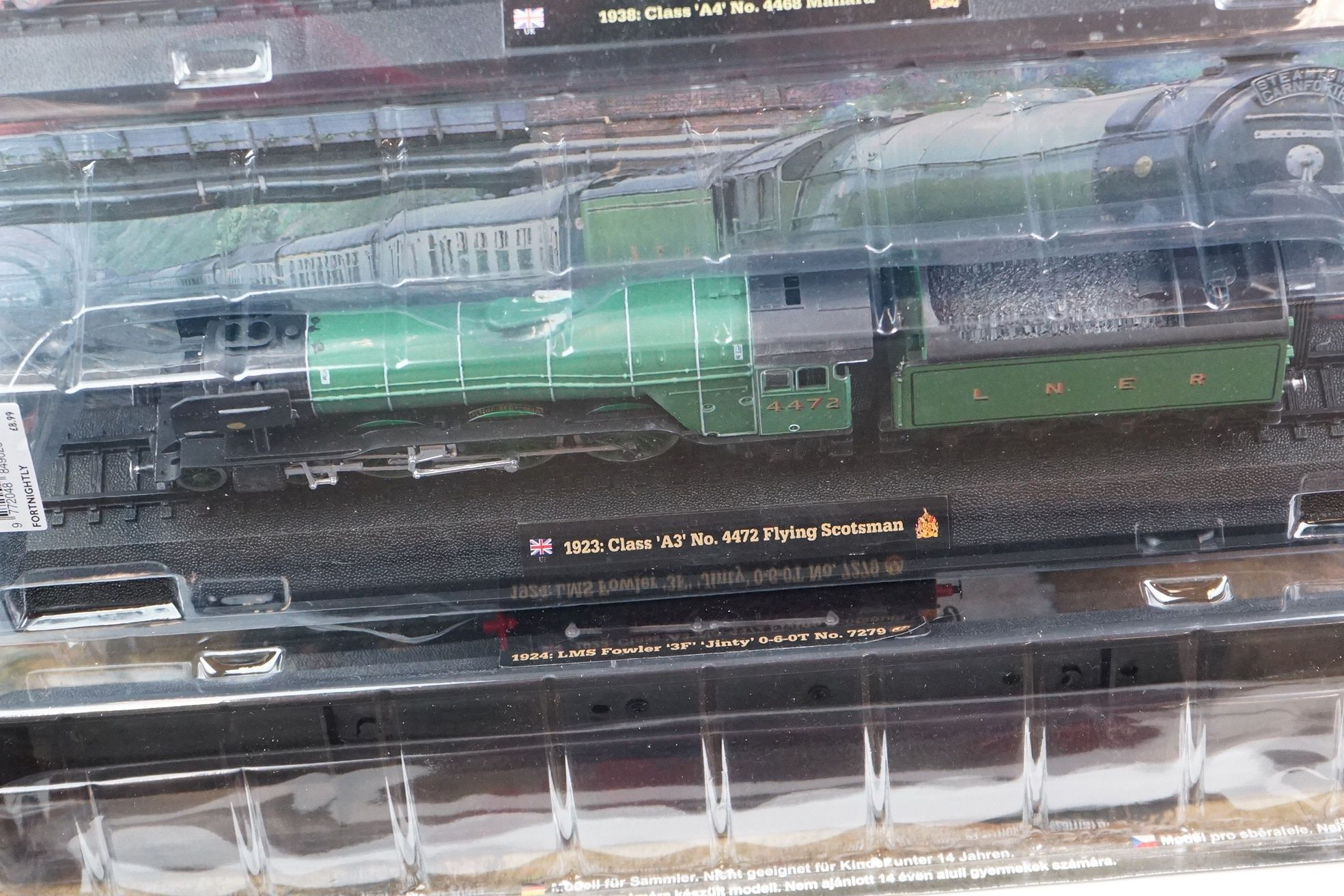 A large collection of railway locomotive models contained within three boxes to include the 1963 - Image 3 of 10