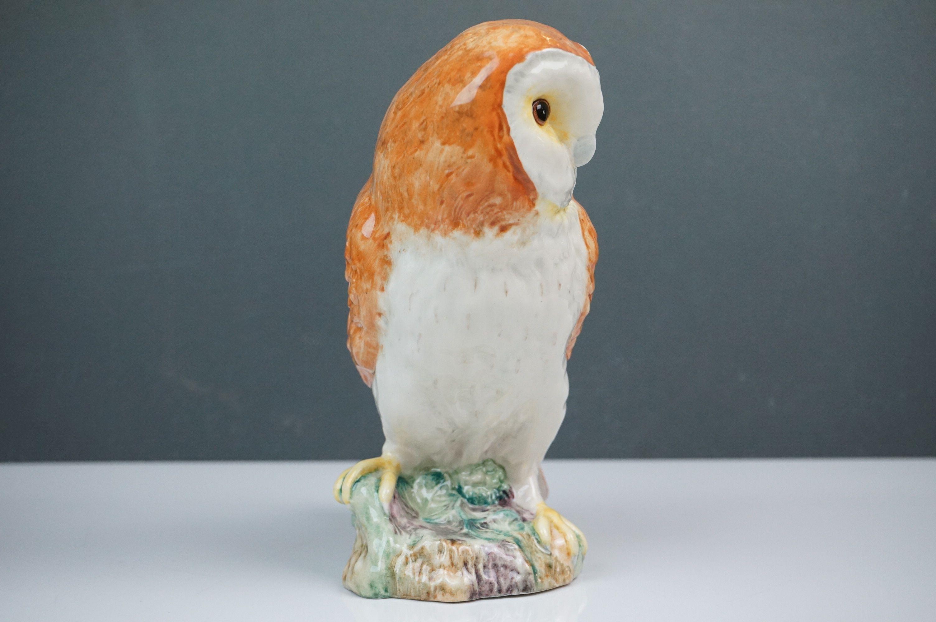 Beswick Eagle on Rock (no. 2307), Beswick Owl (no. 1046a) and Beswick Kingfisher (no. 2371) - Image 9 of 11