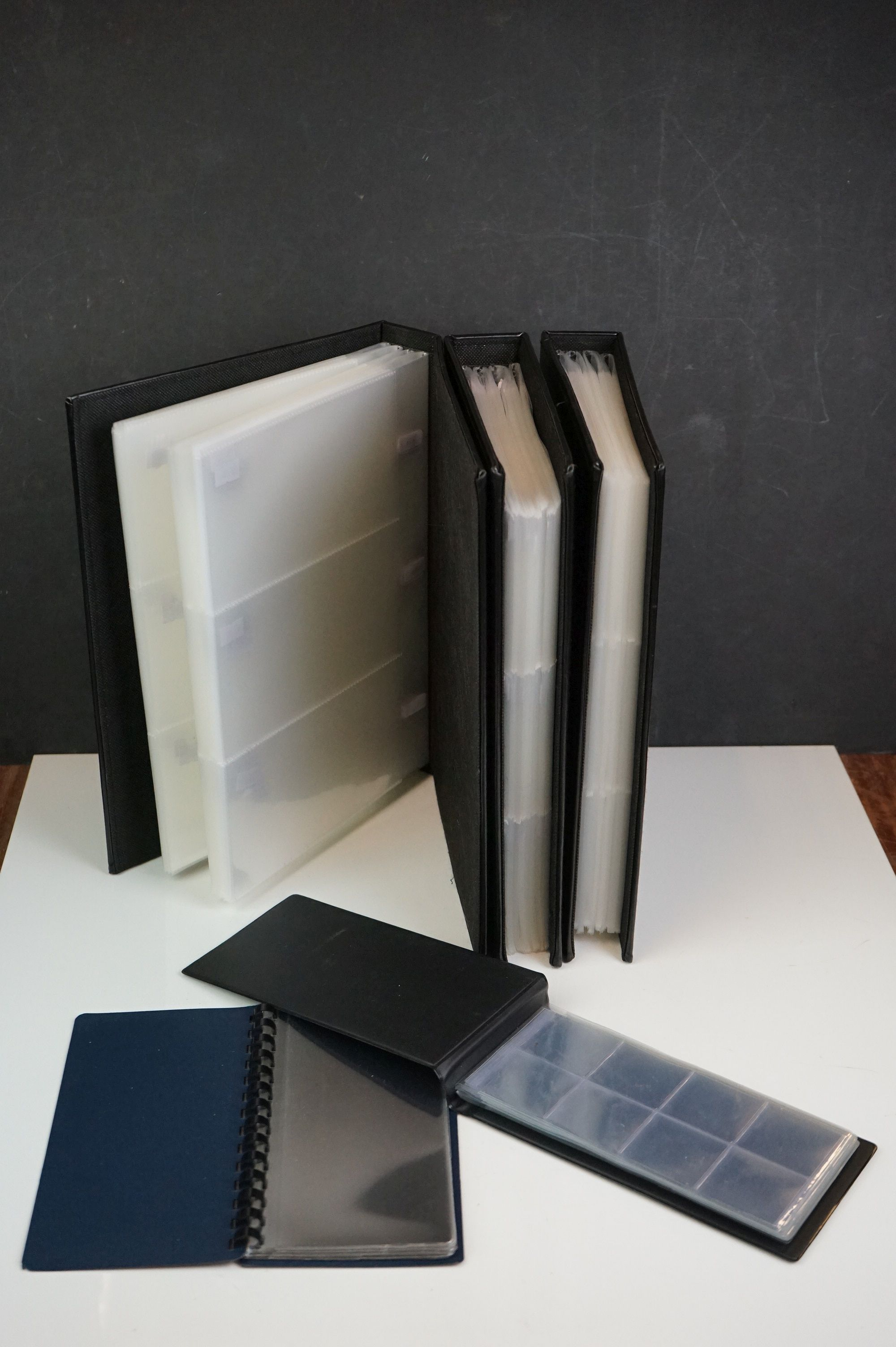 A collection of coin and banknote storage books and cases together with related reference books. - Image 7 of 7