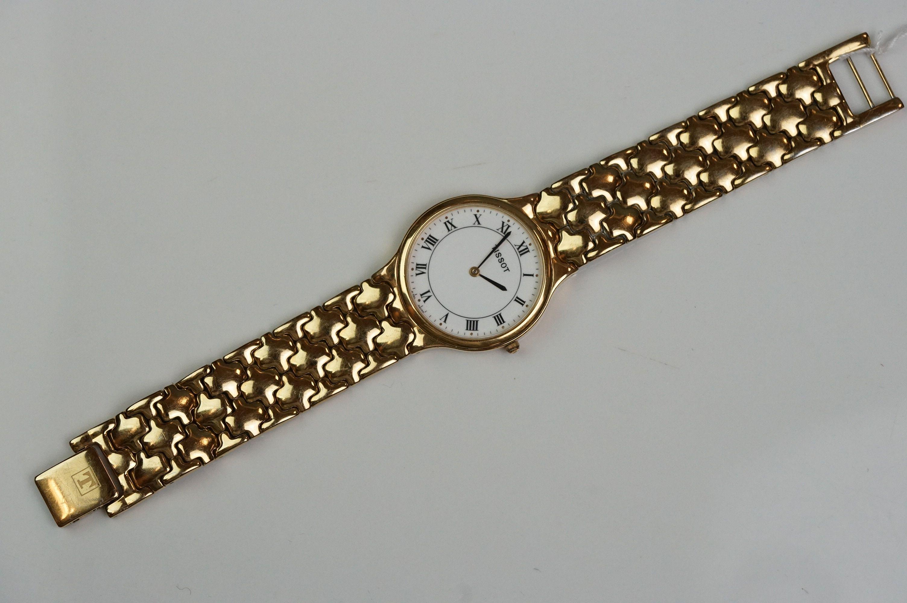 Tissot K250 gold plated dress watch