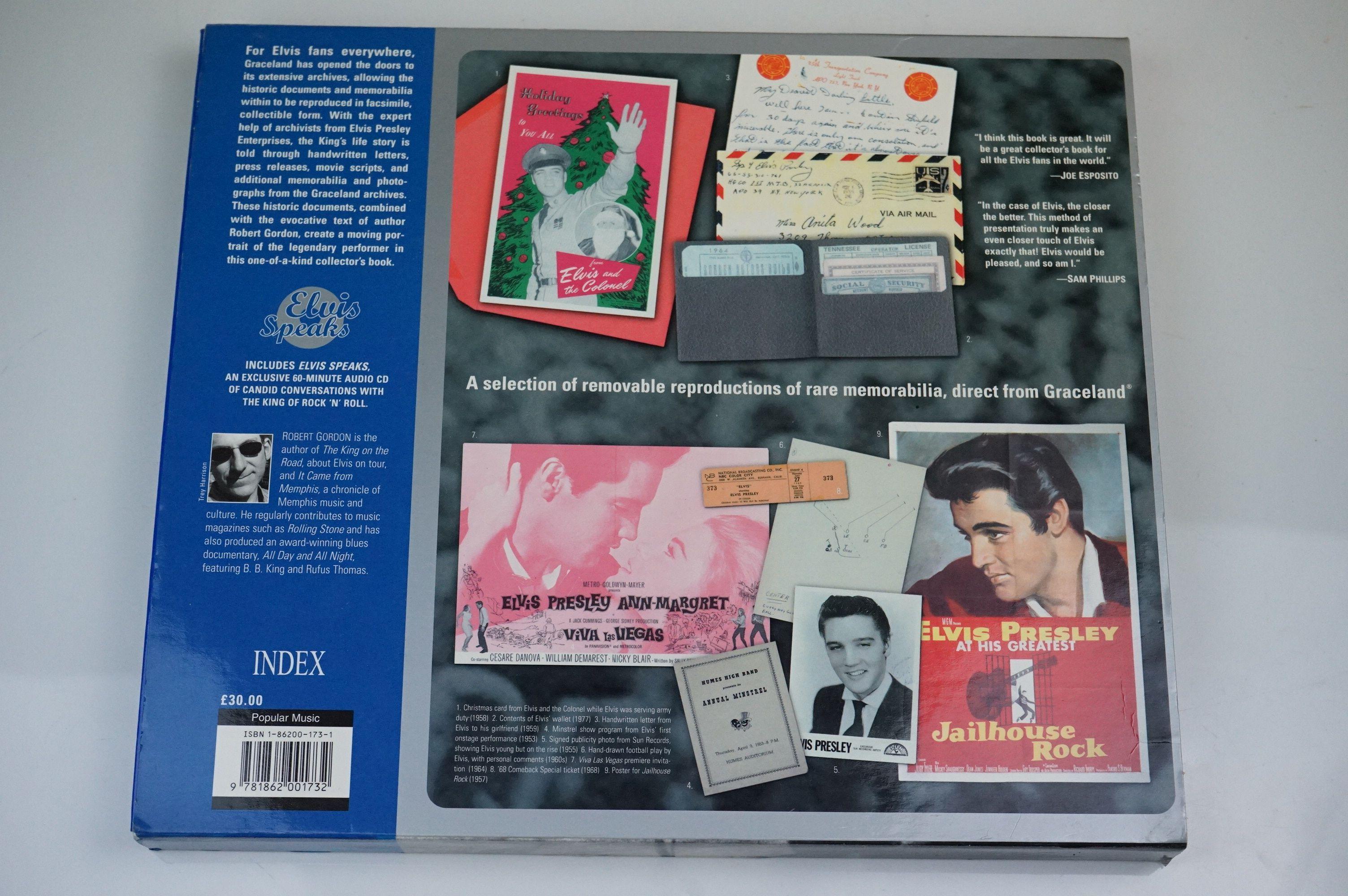 Elvis Presley memorabilia, to include Elvis Treasures, vintage jigsaw, Fruits Of The Loom Elvis T - Image 7 of 9