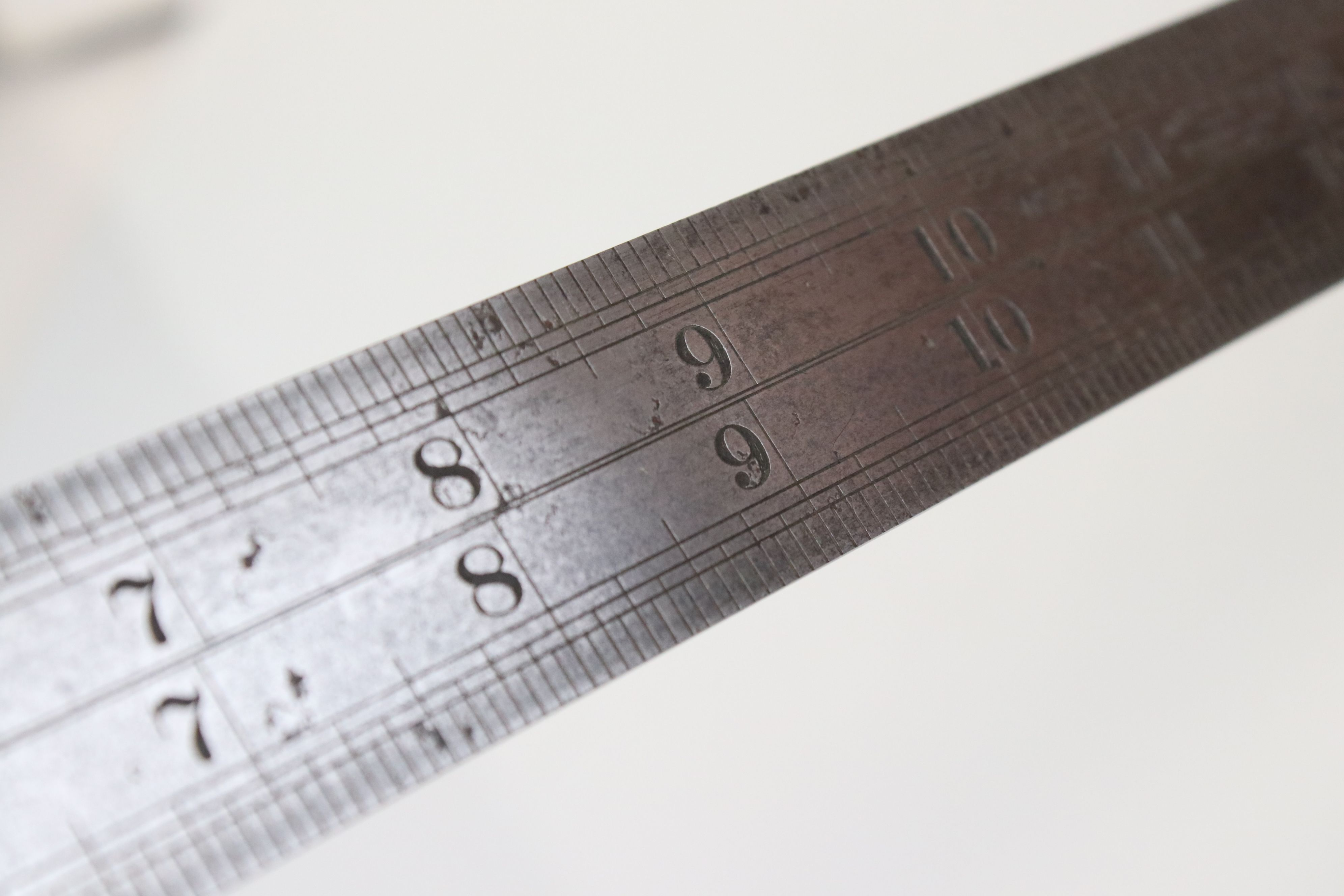 J. Rabone No.23 Steel Double Contraction / Contraction Rule, 24 inches long - Image 4 of 4