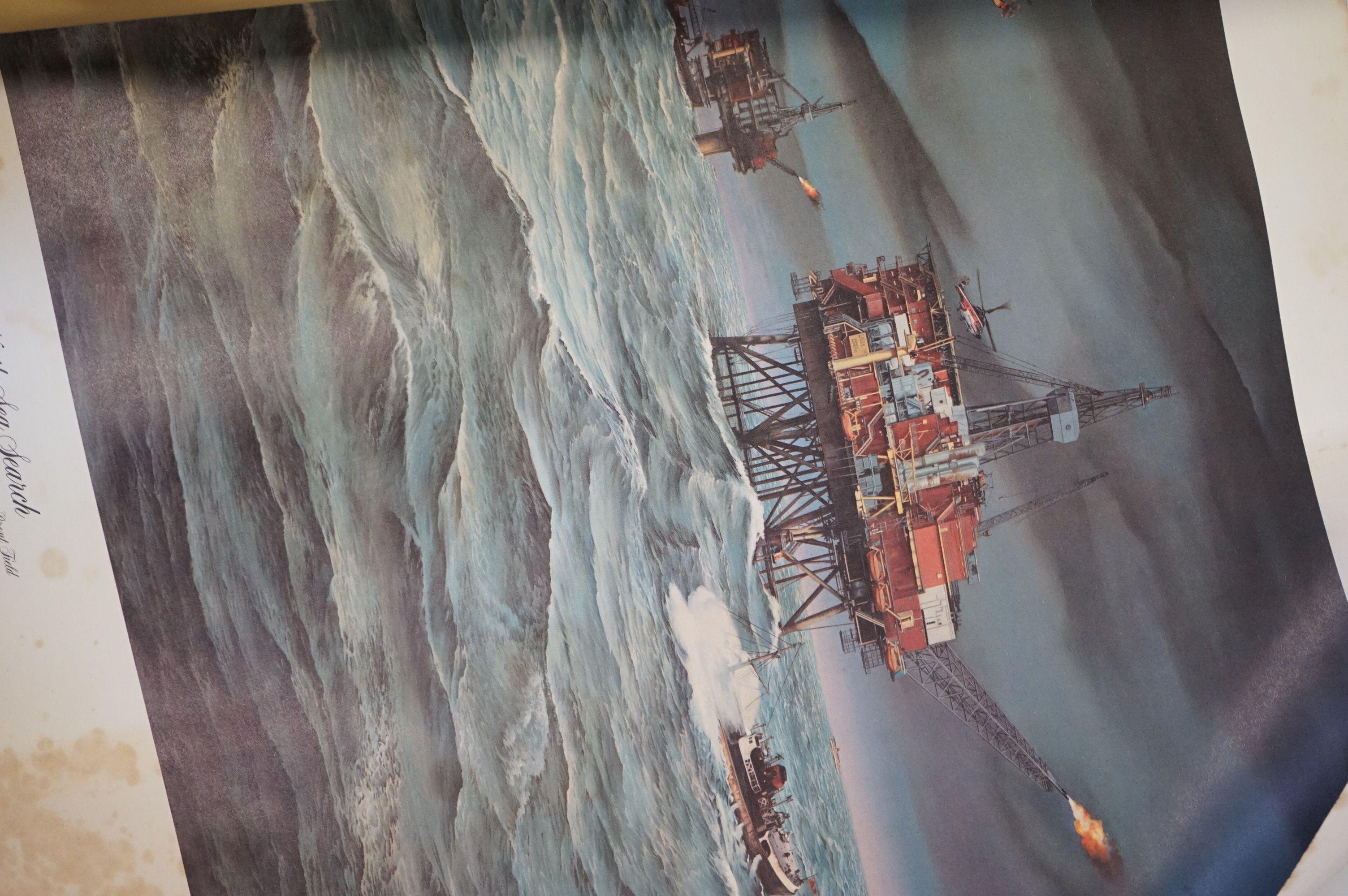 Set of Twelve Prints of CP Air Airplanes taken from paintings of West Coast Artist Robert Banks - Image 2 of 4