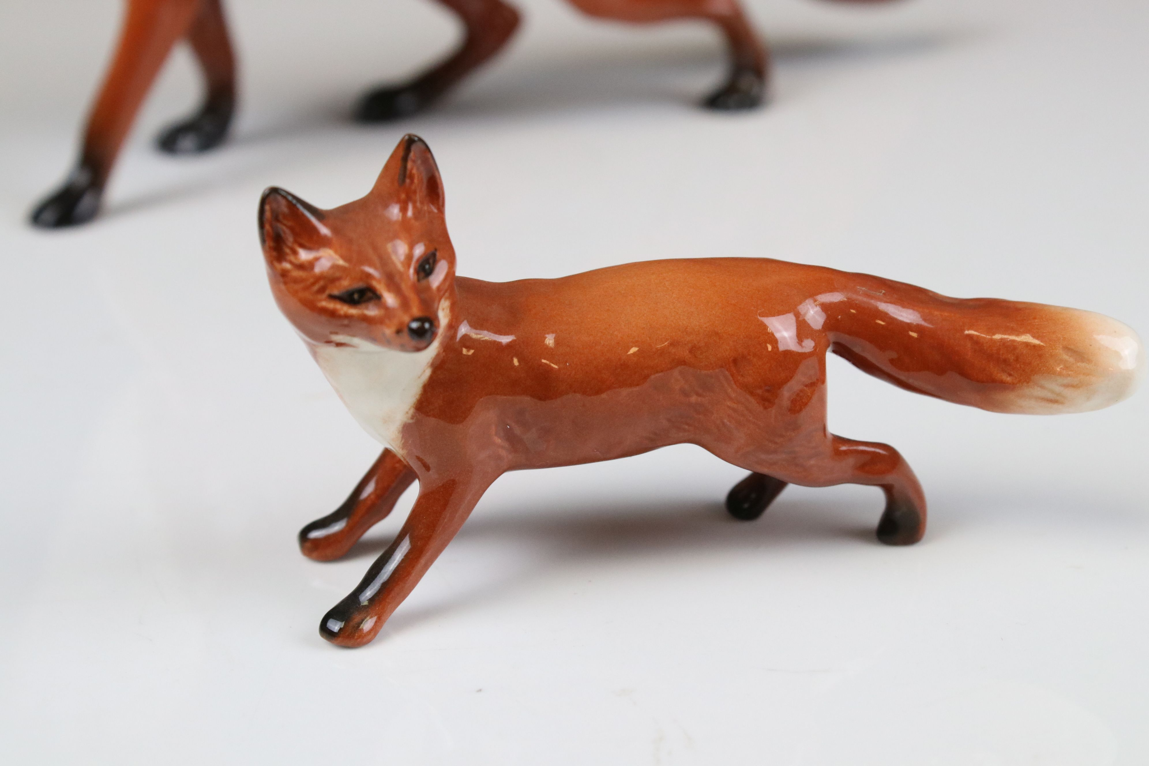 Two Beswick Foxes, (no. 1418 and 1016A) - Image 2 of 9