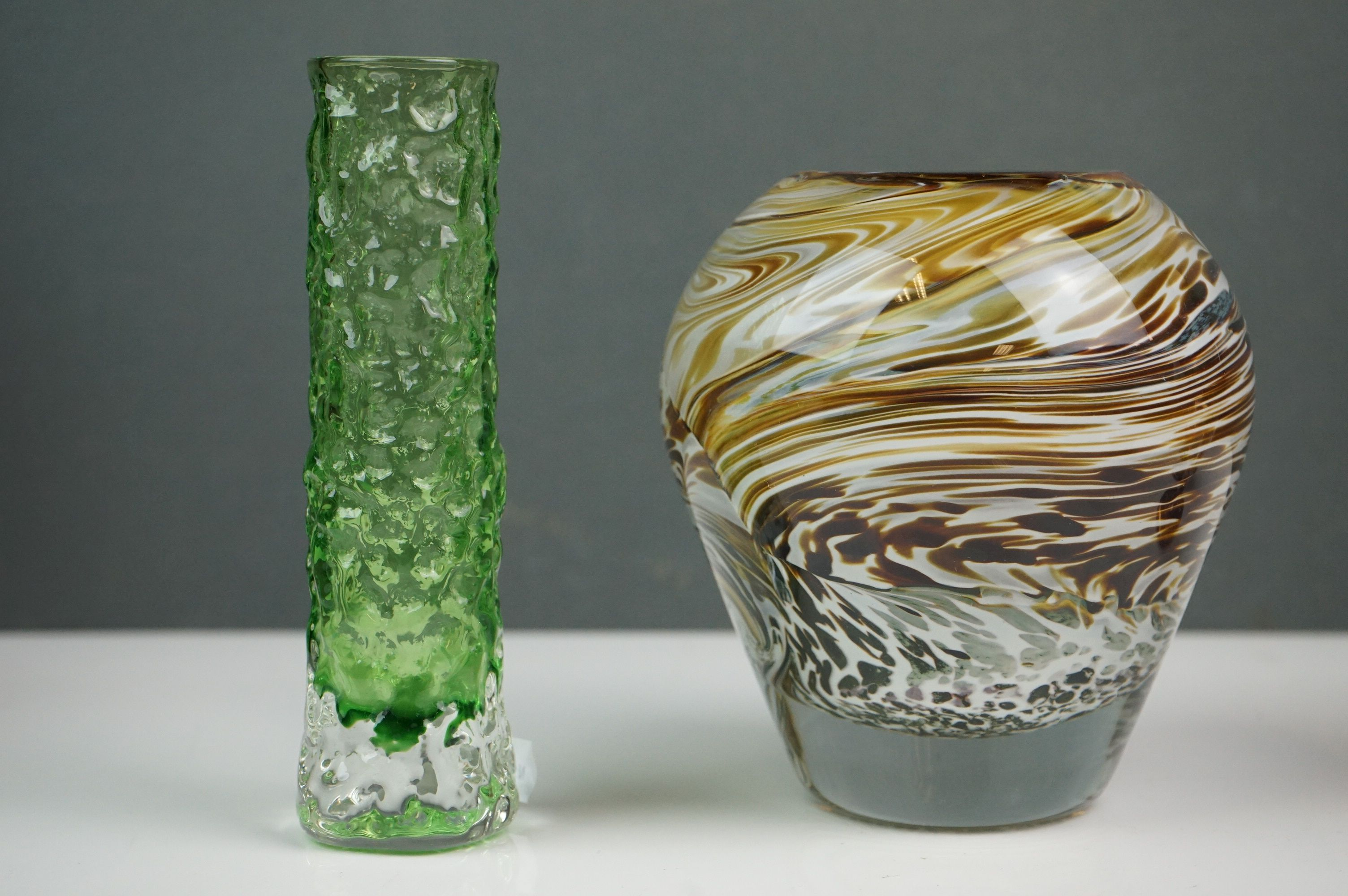 Mixed Lot of Ceramics and Glass including small Brannam Pottery Jug dated 1904, 7cms high, - Image 4 of 5