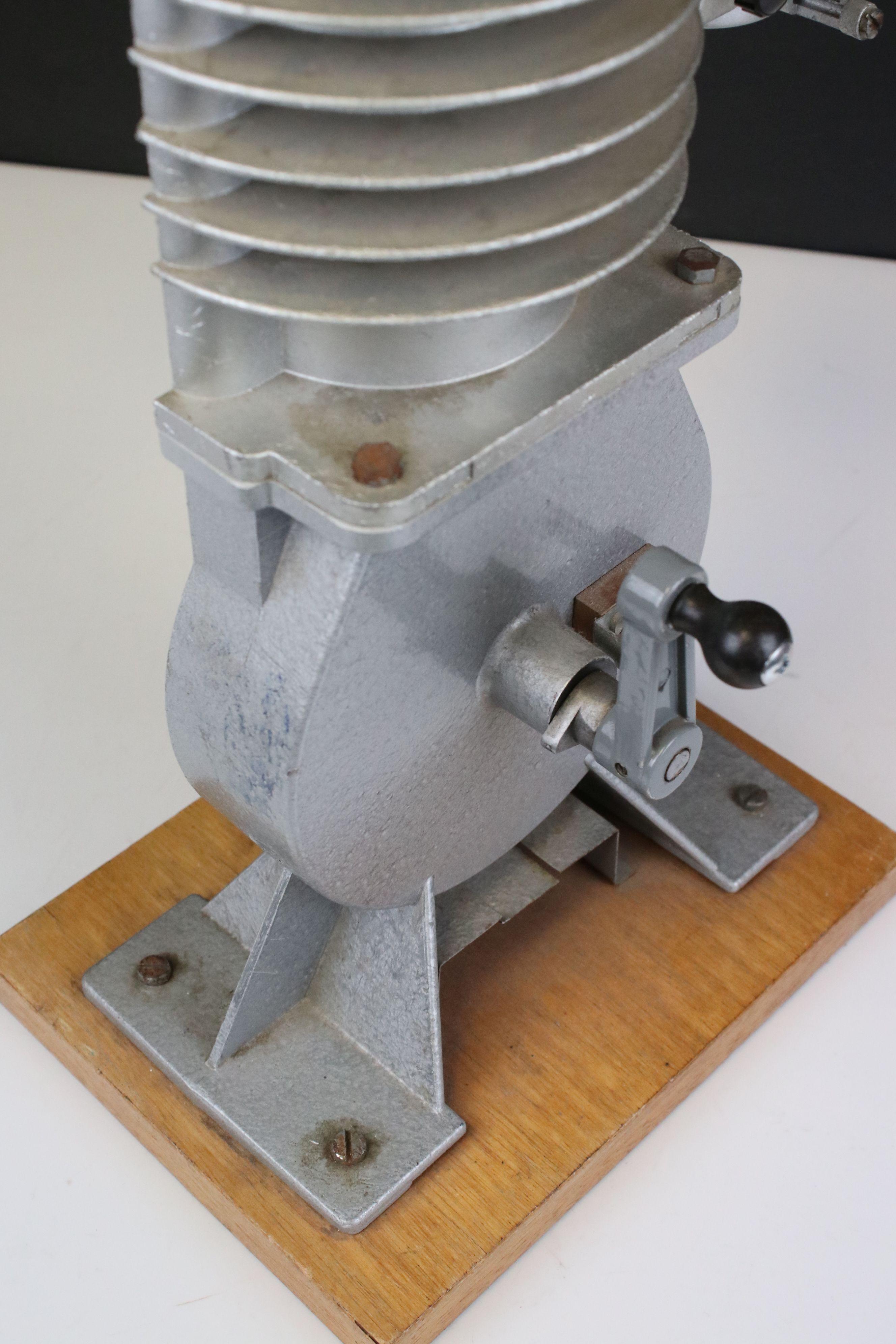 Cast Cut-away Demonstration Model of a Two-stroke Engine by Irwin & Partners Ltd of Croydon, on - Image 5 of 5