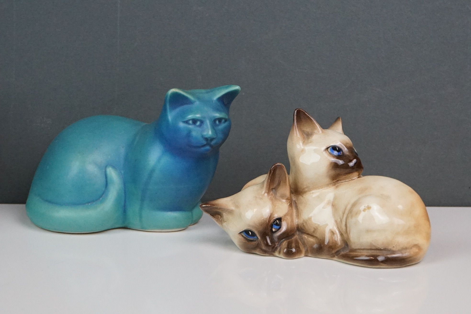 A small collection of ceramic animals to include Beswick & Royal Doulton examples. - Image 2 of 6