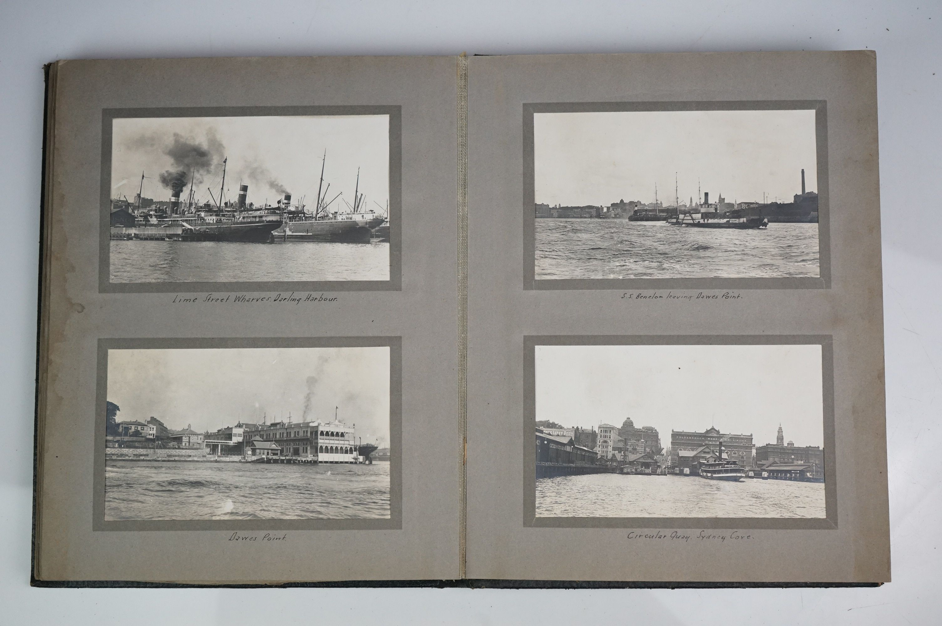 A large collection of early 20th century postcards contained within an album, mainly printed - Image 8 of 11