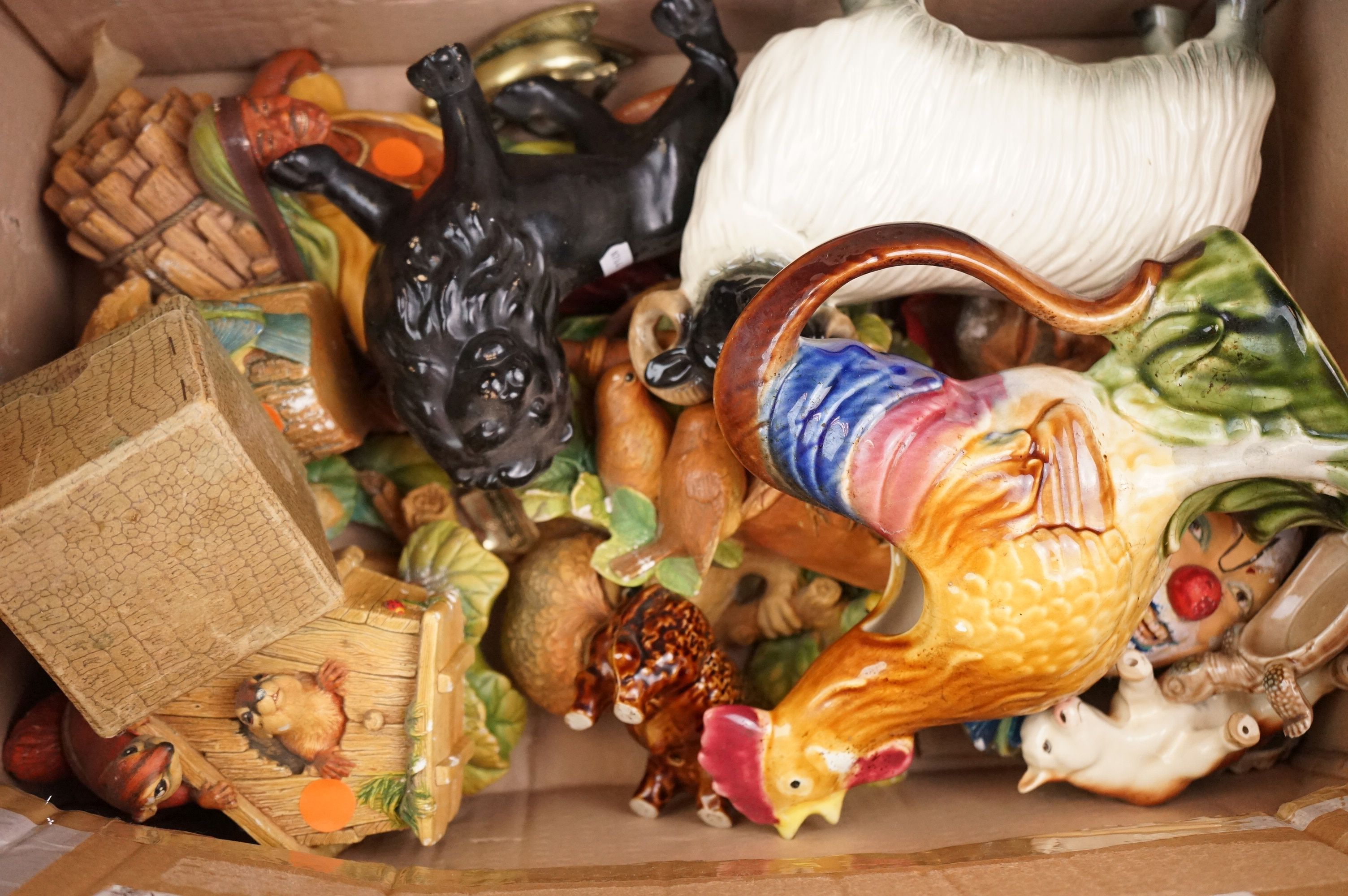 A group of mixed ceramics to include wade and cooper craft animals. - Image 6 of 6