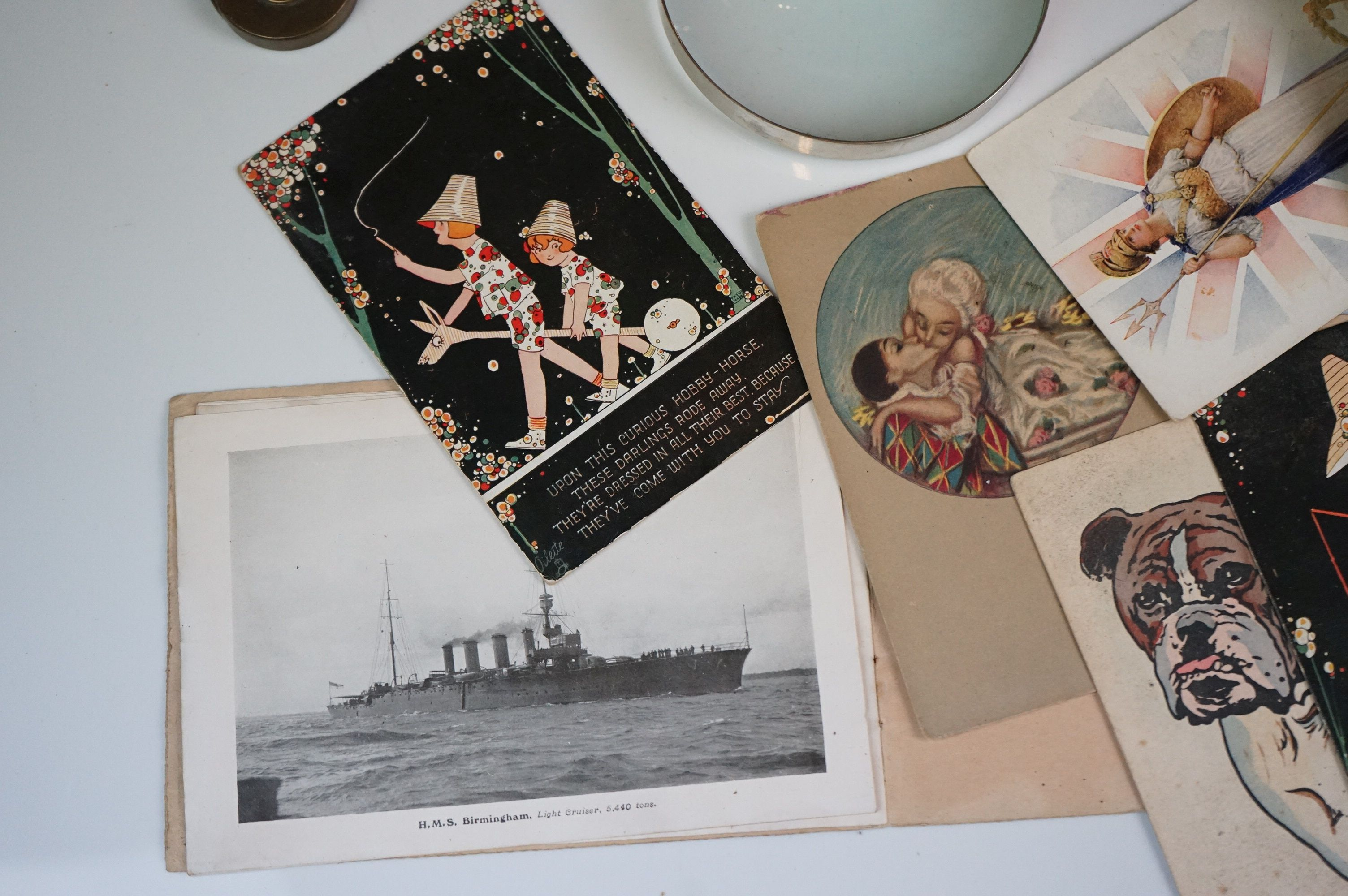 Album containing WW1 photographic postcards of the Royal Medical Corps, many with correspondence & - Image 3 of 13