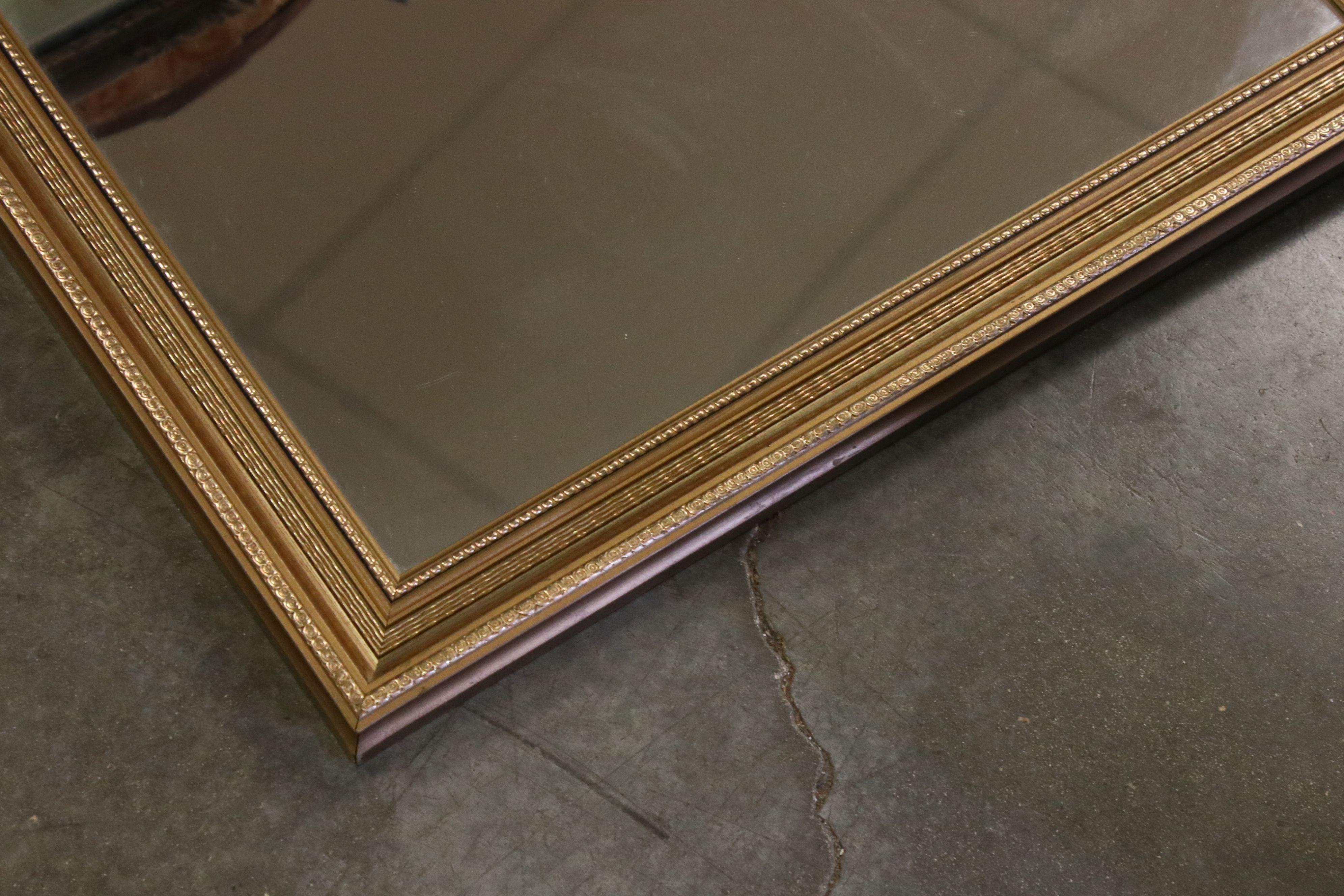 Pair of Rectangular Gilt Framed Mirrors, 44cms x 54cms together with another Gilt Framed Mirror - Image 3 of 3