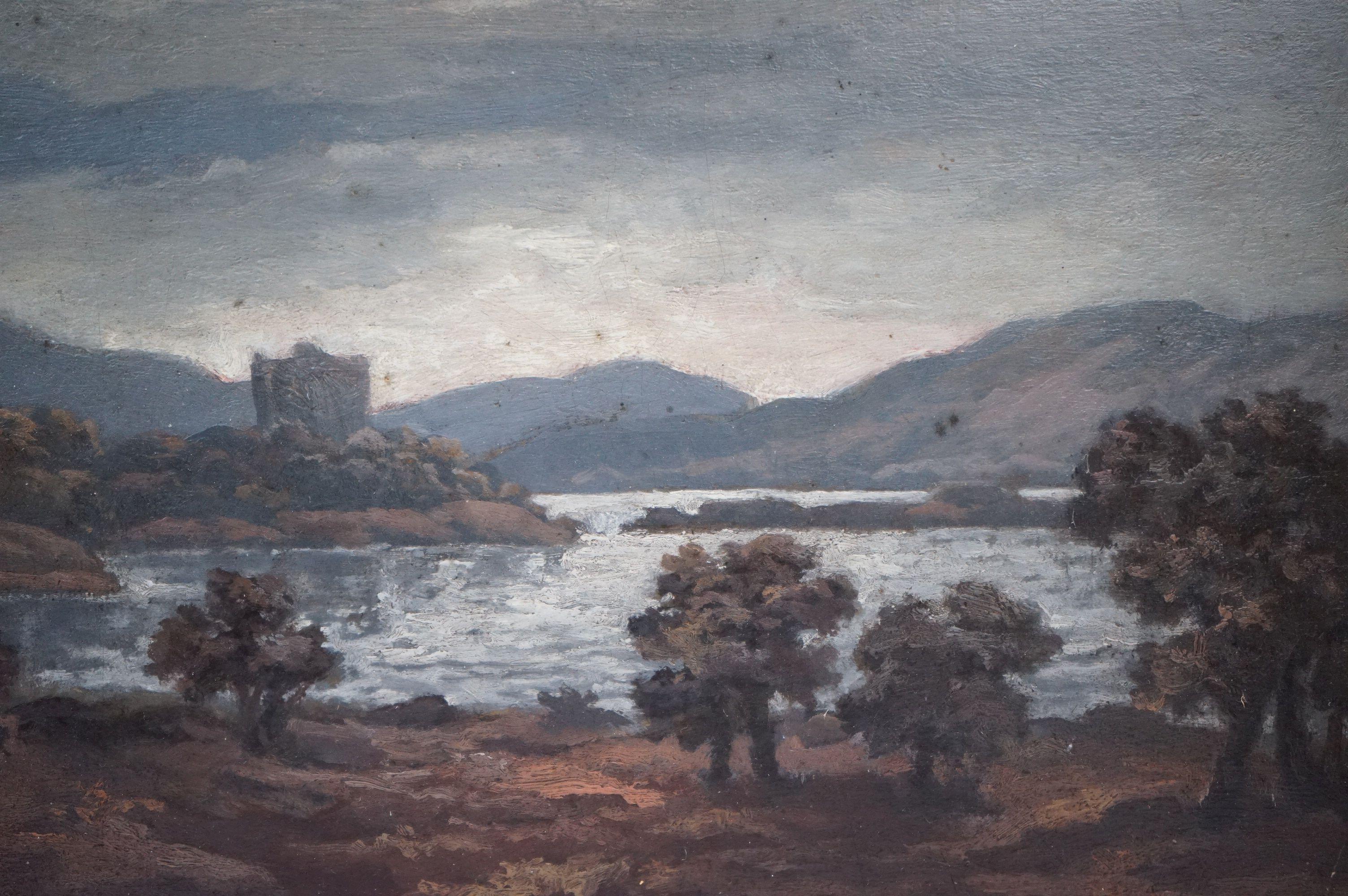 Oil Painting on Board of a Lakeland Scene Landscape, 25cms x 18cms, gilt framed - Image 3 of 4